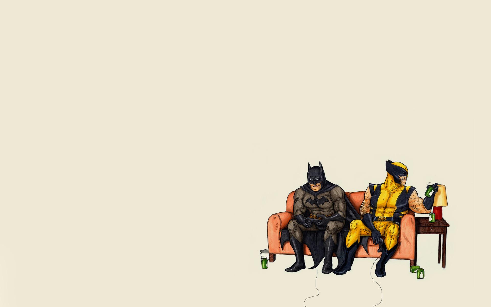 Поздравление открытка, картинки бэтмен за столом смешное