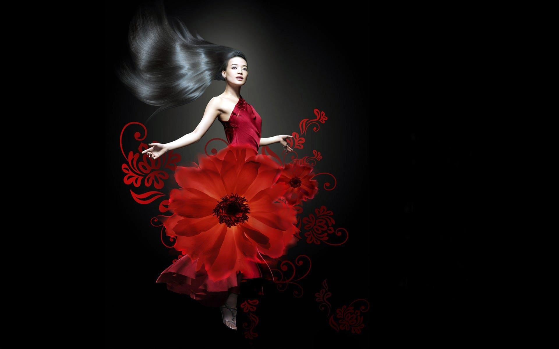 Красивые картинки на черно-красном фоне