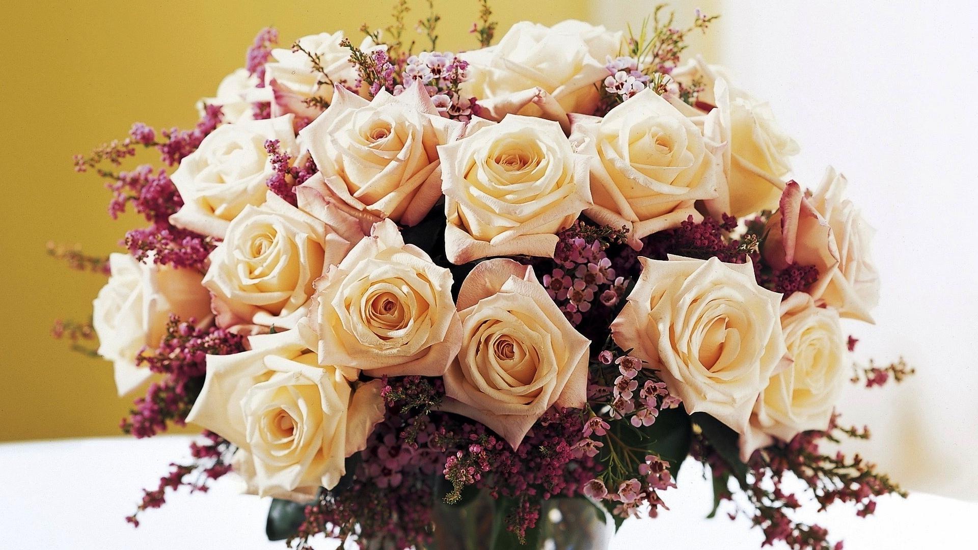 Красивые картинки букеты белых роз