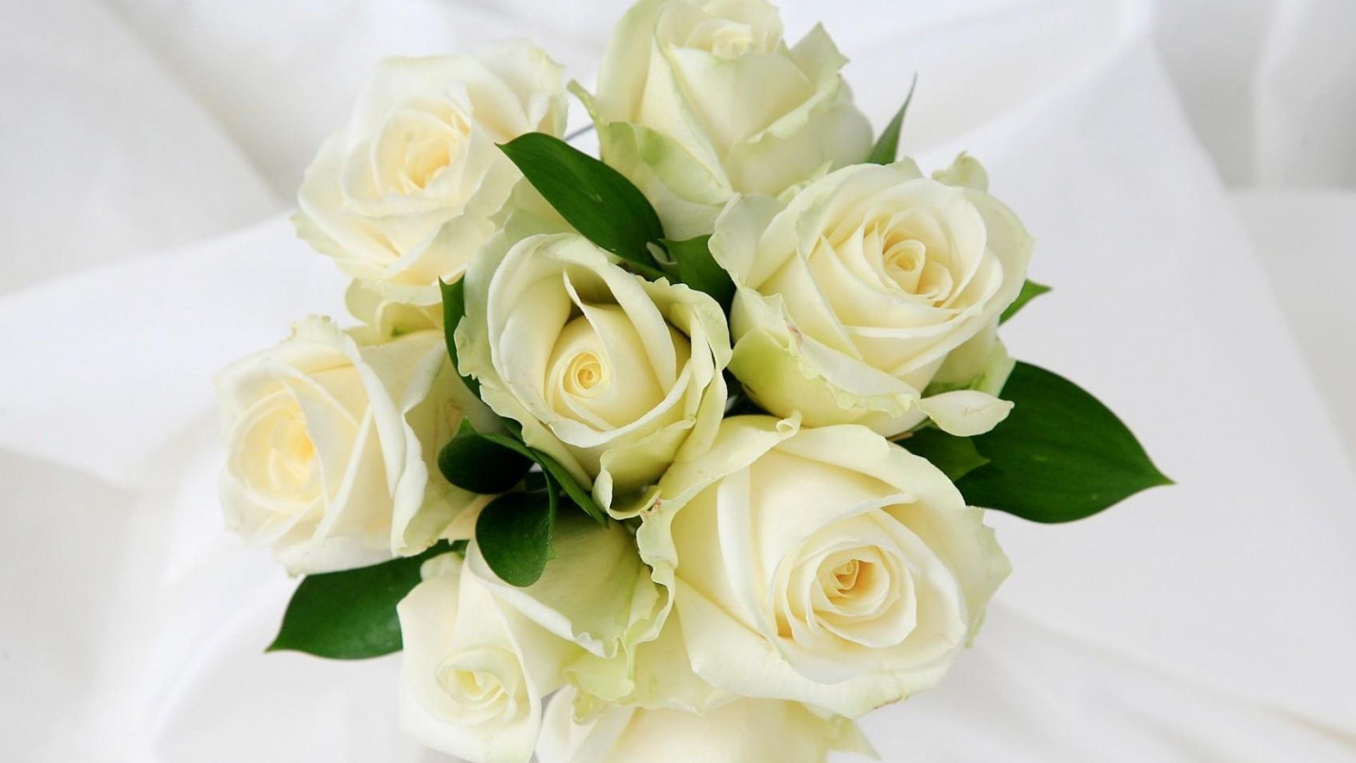 Открытки с букетом из белых роз, днем