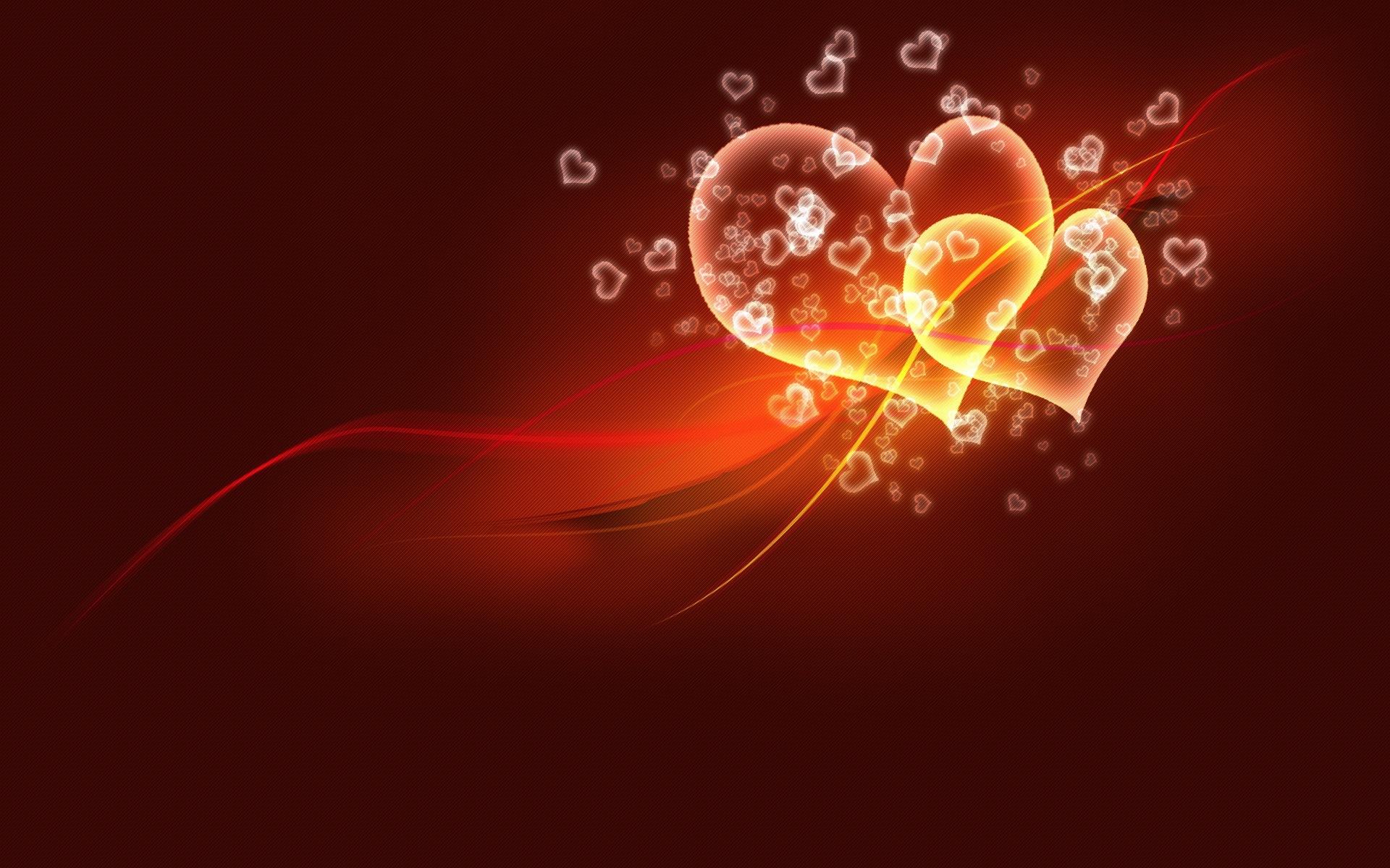 Два сердца обои для рабочего стола картинки фото 1920x1200