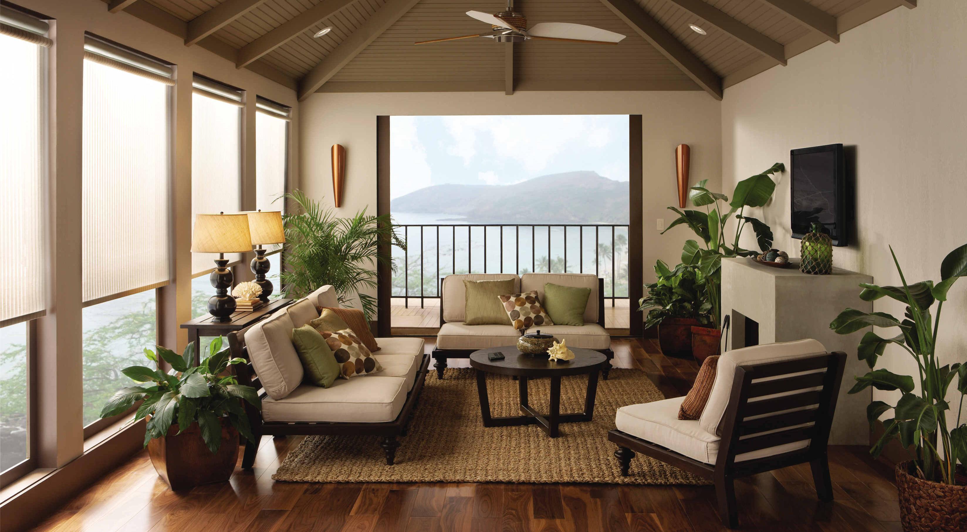 The interior of the porch of a country house wallpapers - Casas de campo interiores ...