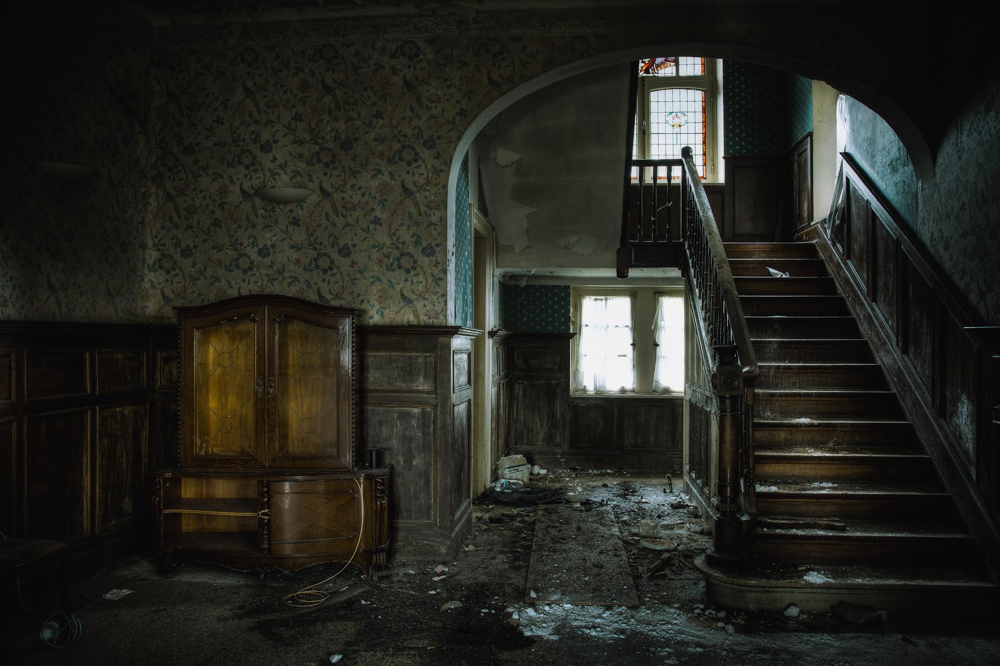 картинки заброшенного дома внутри новое