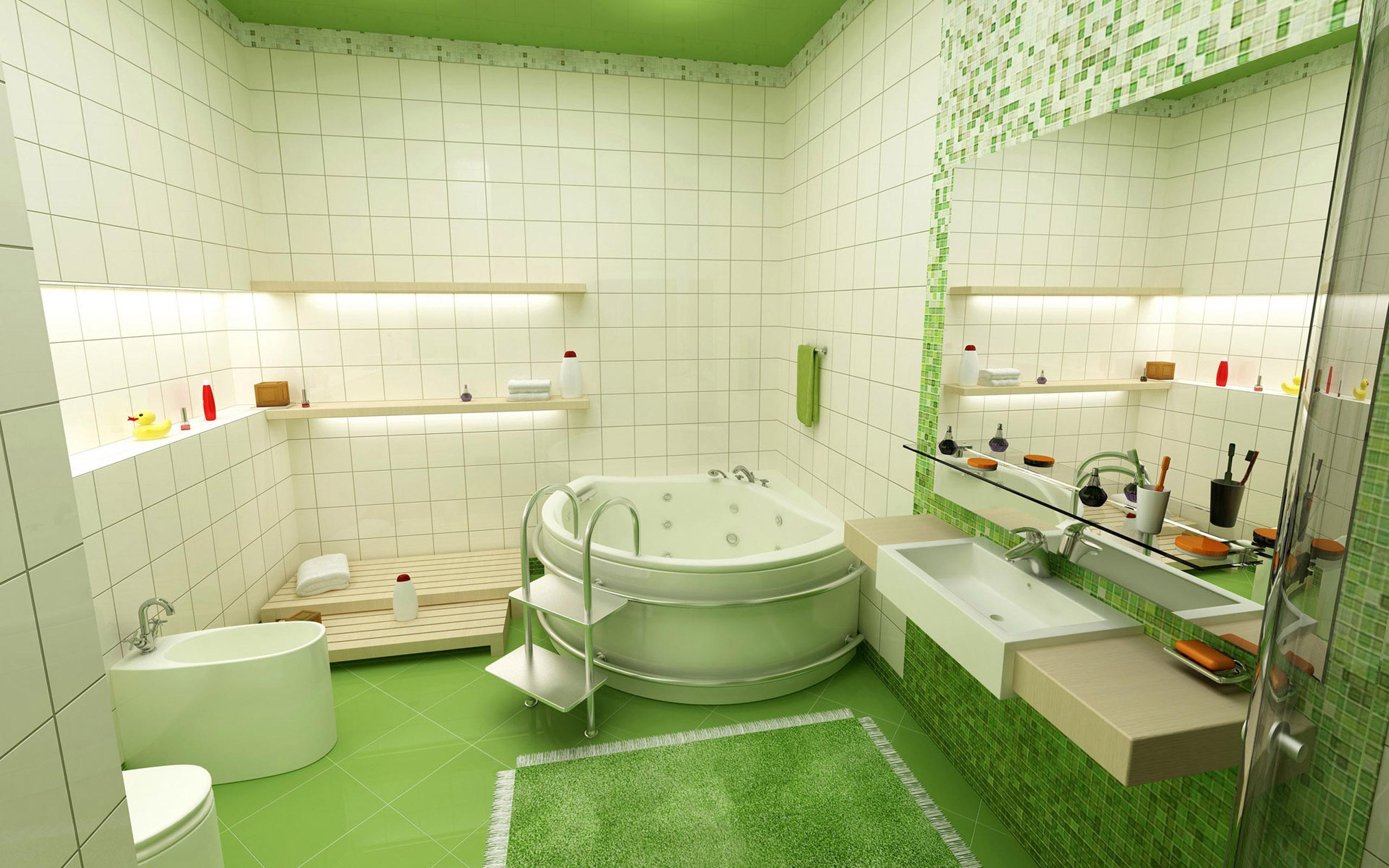 Картинки и описание ванной комнаты