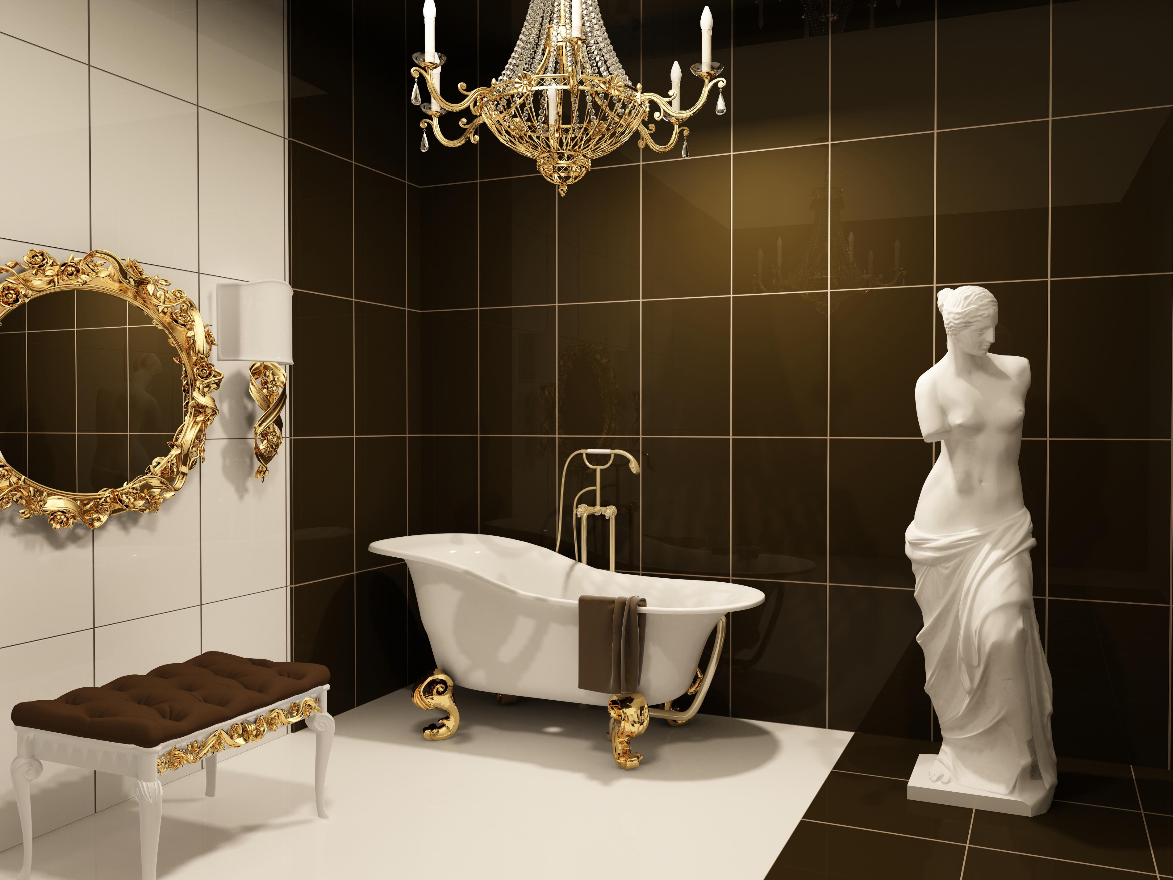 Картинки в ванной
