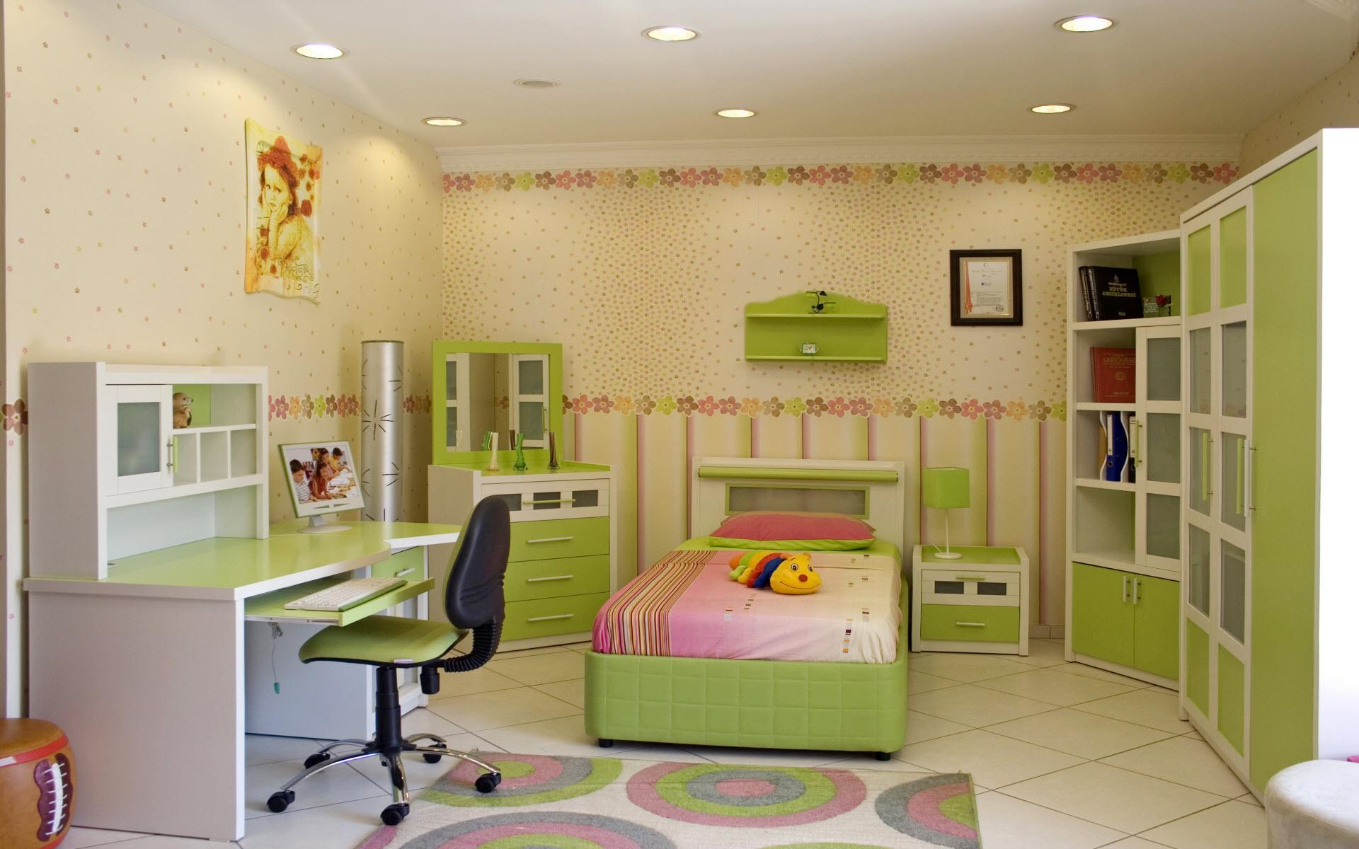 Днем работников, картинки комнаты для детей девочек