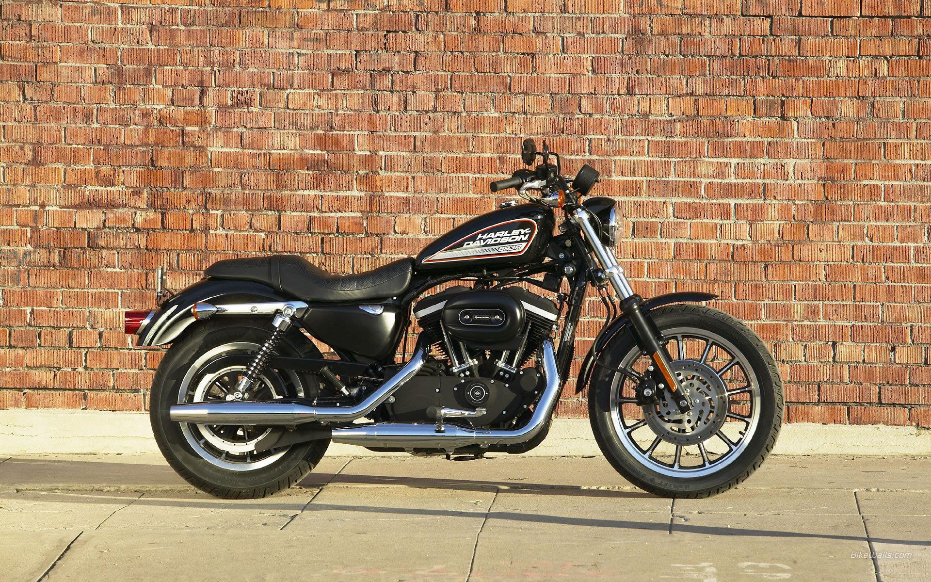 Motorcycle Model Harley-Davidson XL 883R Sportster