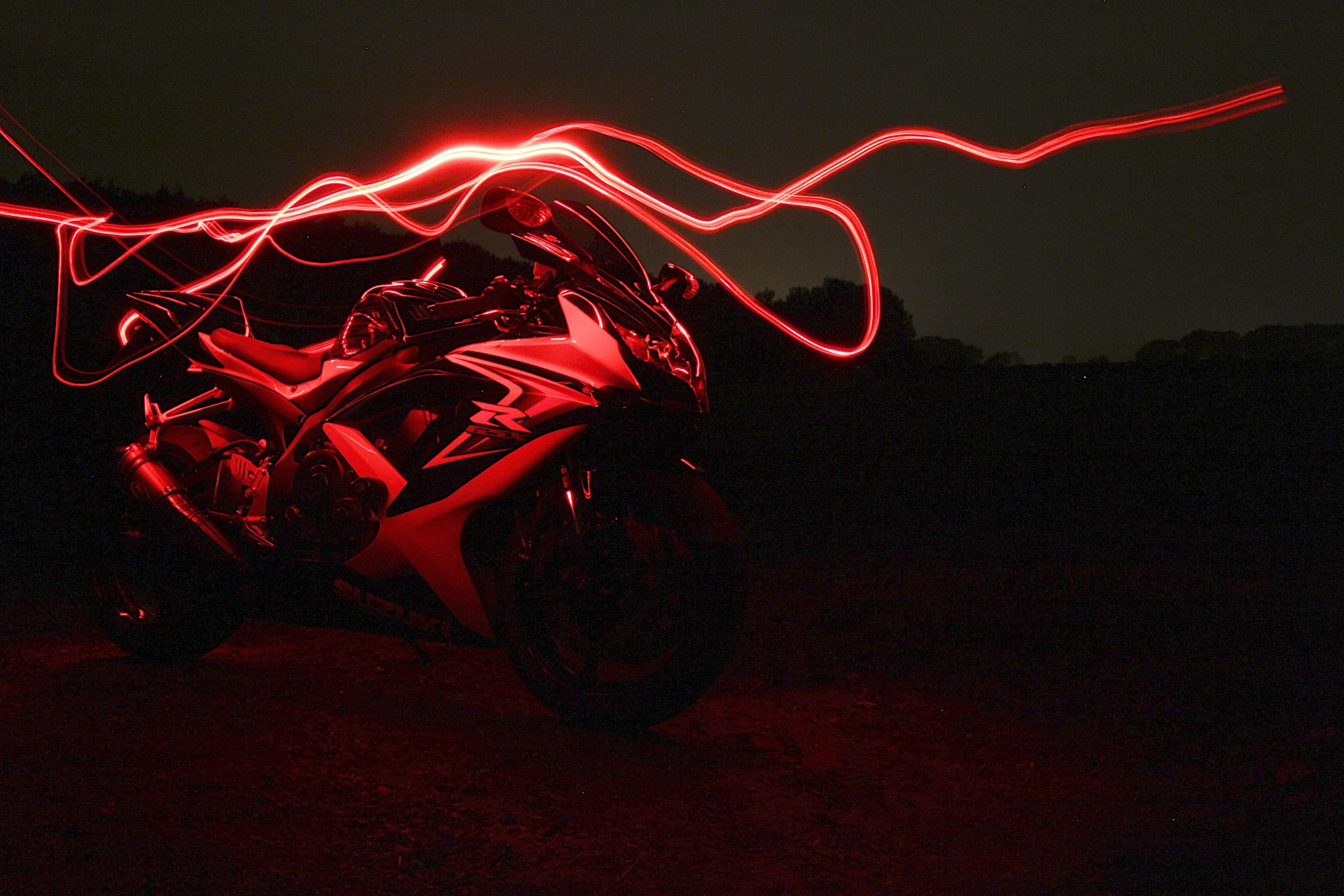 Картинки мотоциклов с неоном