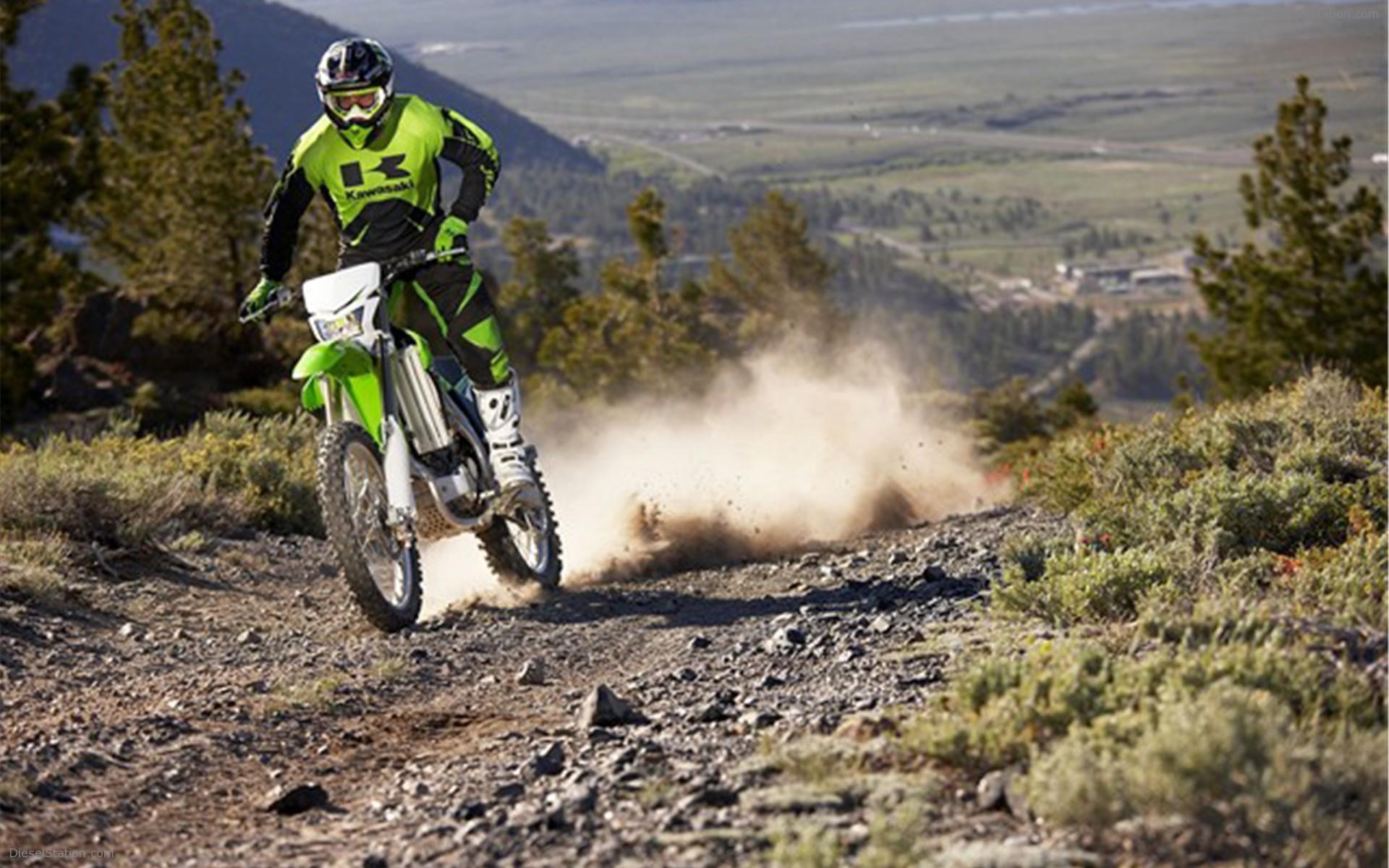 Test Drive A Motorcycle Kawasaki KLX 450 R Wallpapers And