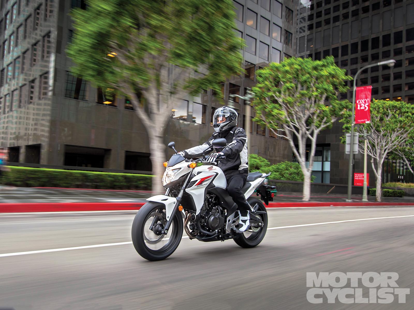 Test Drive A Motorcycle New Honda CB 500 F