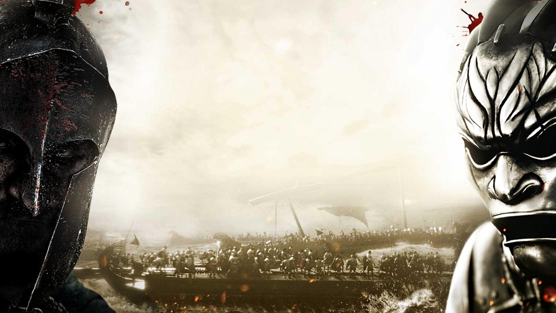 300 спартанцев: Расцвет империи два солдата - обои для рабочего ...