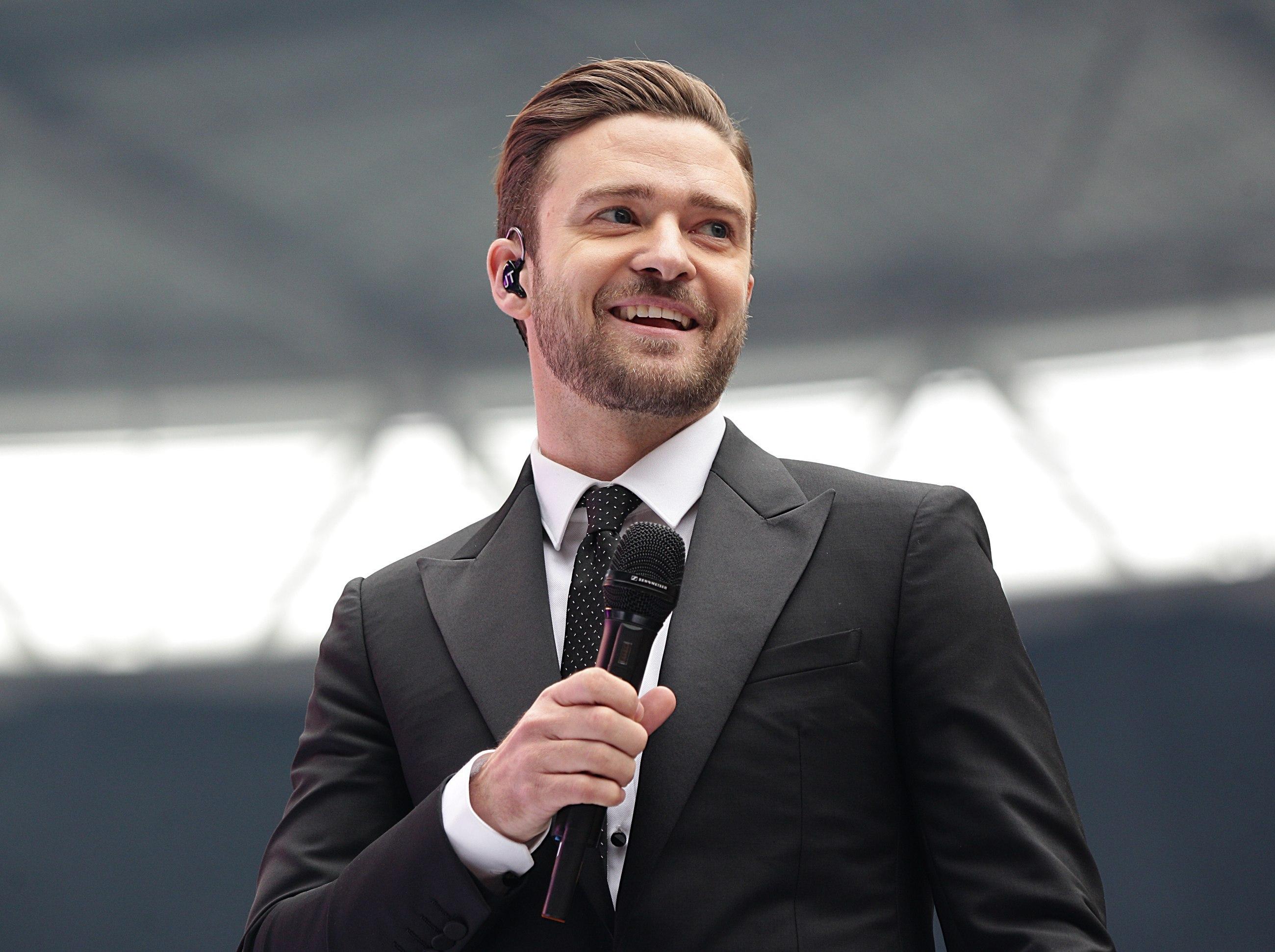 Justin Timberlake in 2... Justin Timberlake