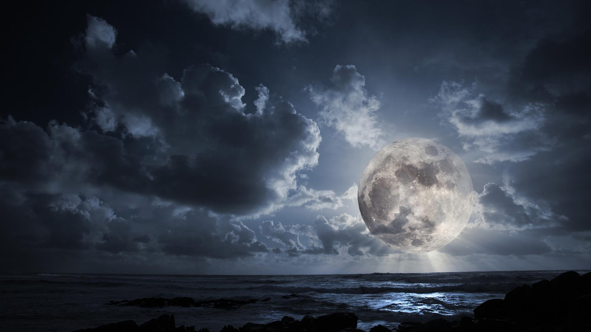 итоге фотография луны в облаках возможно изготовить