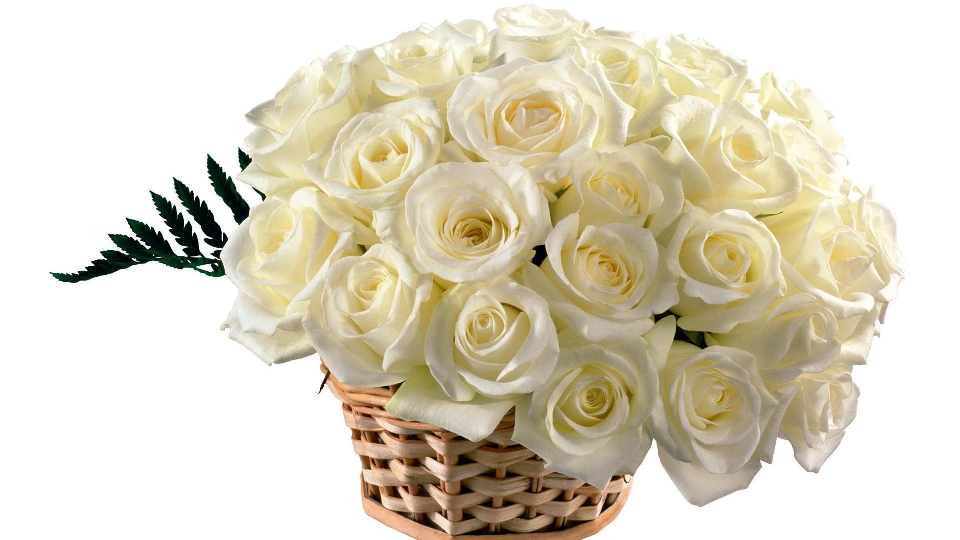 Букет белых роз картинки анимация