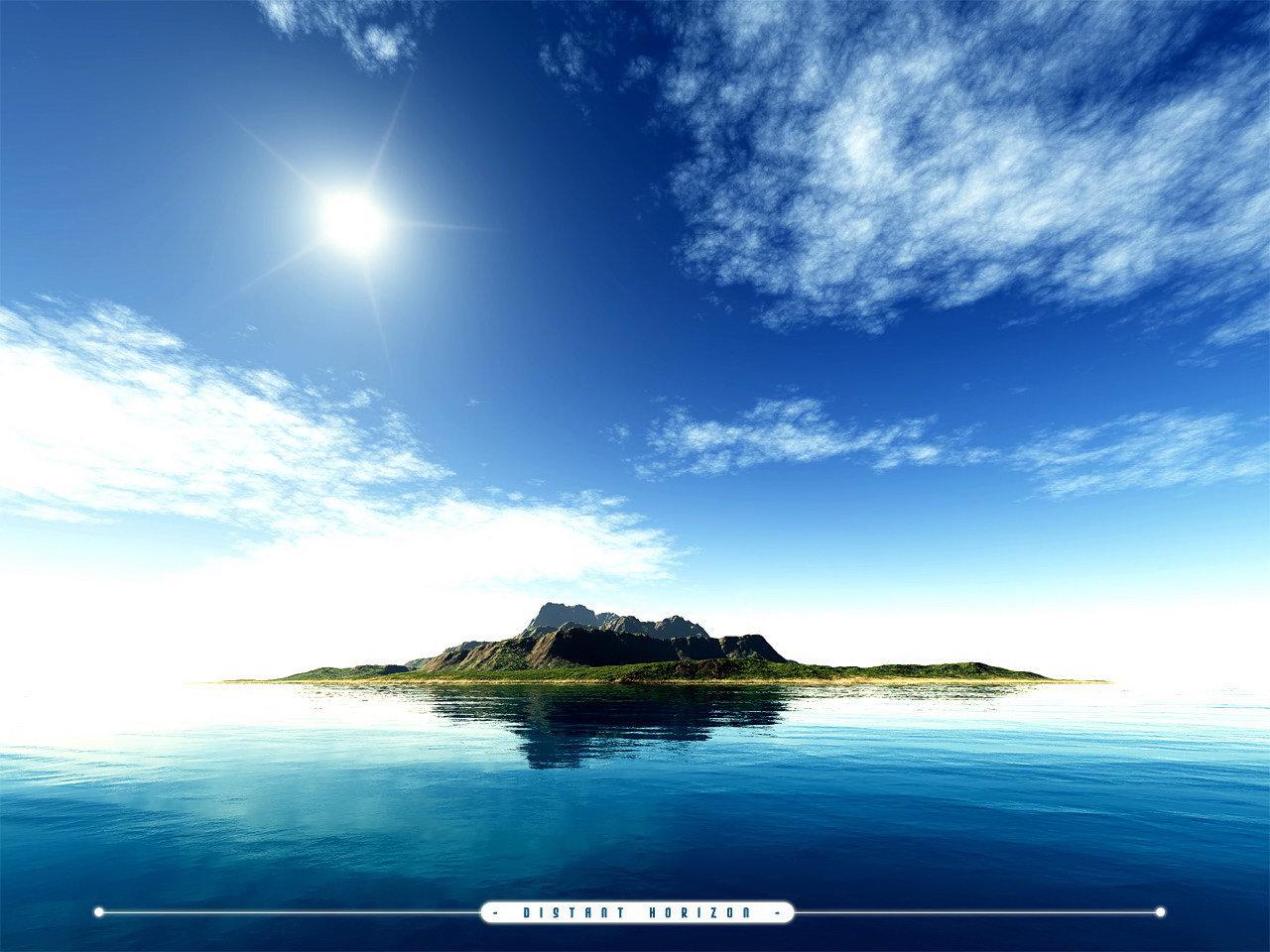 обои острова: