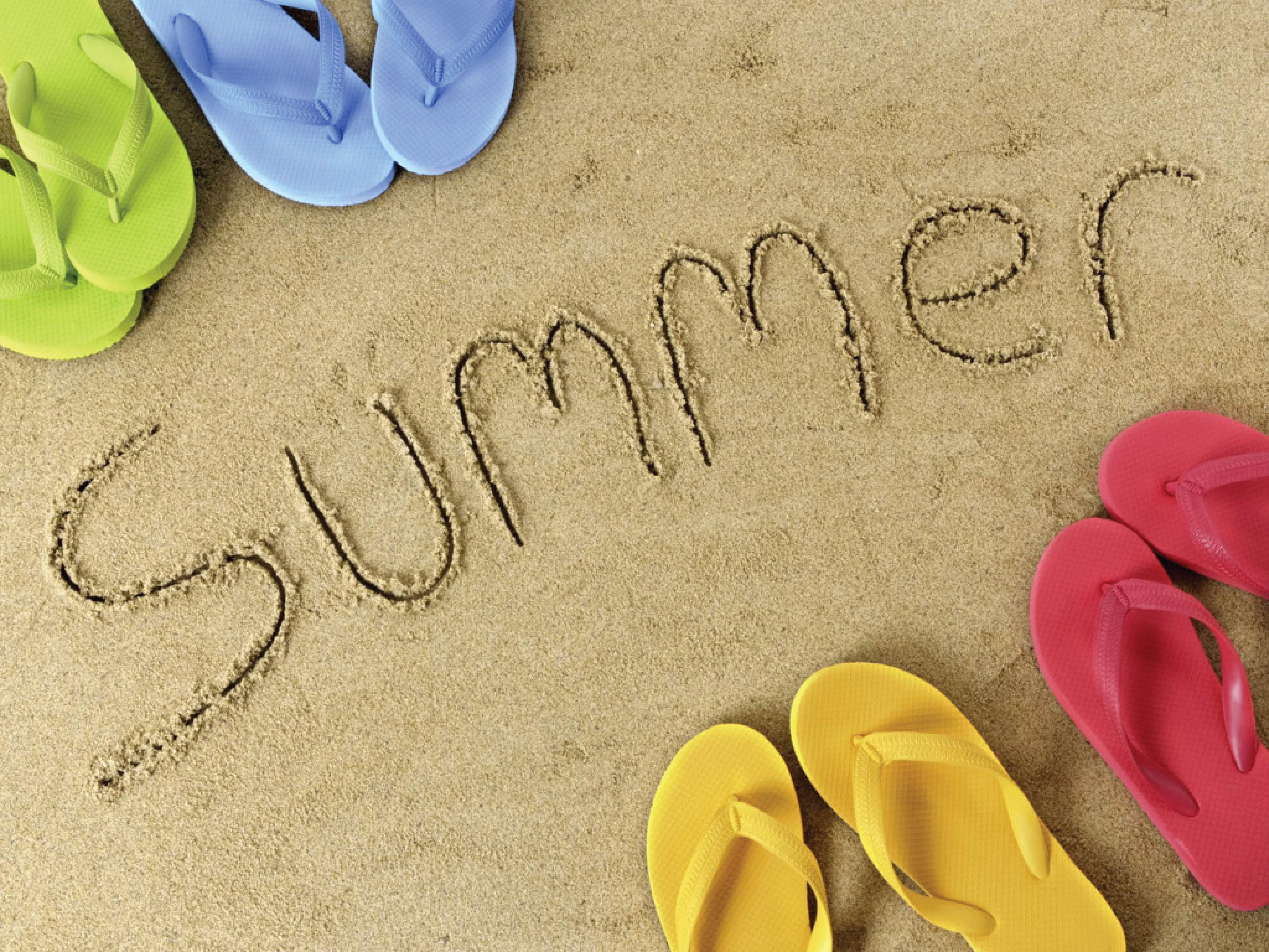 картинки надпись лето
