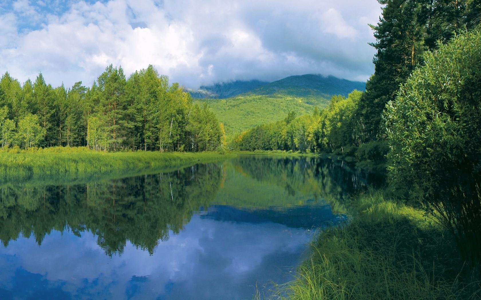 Картинка чистая река, фото