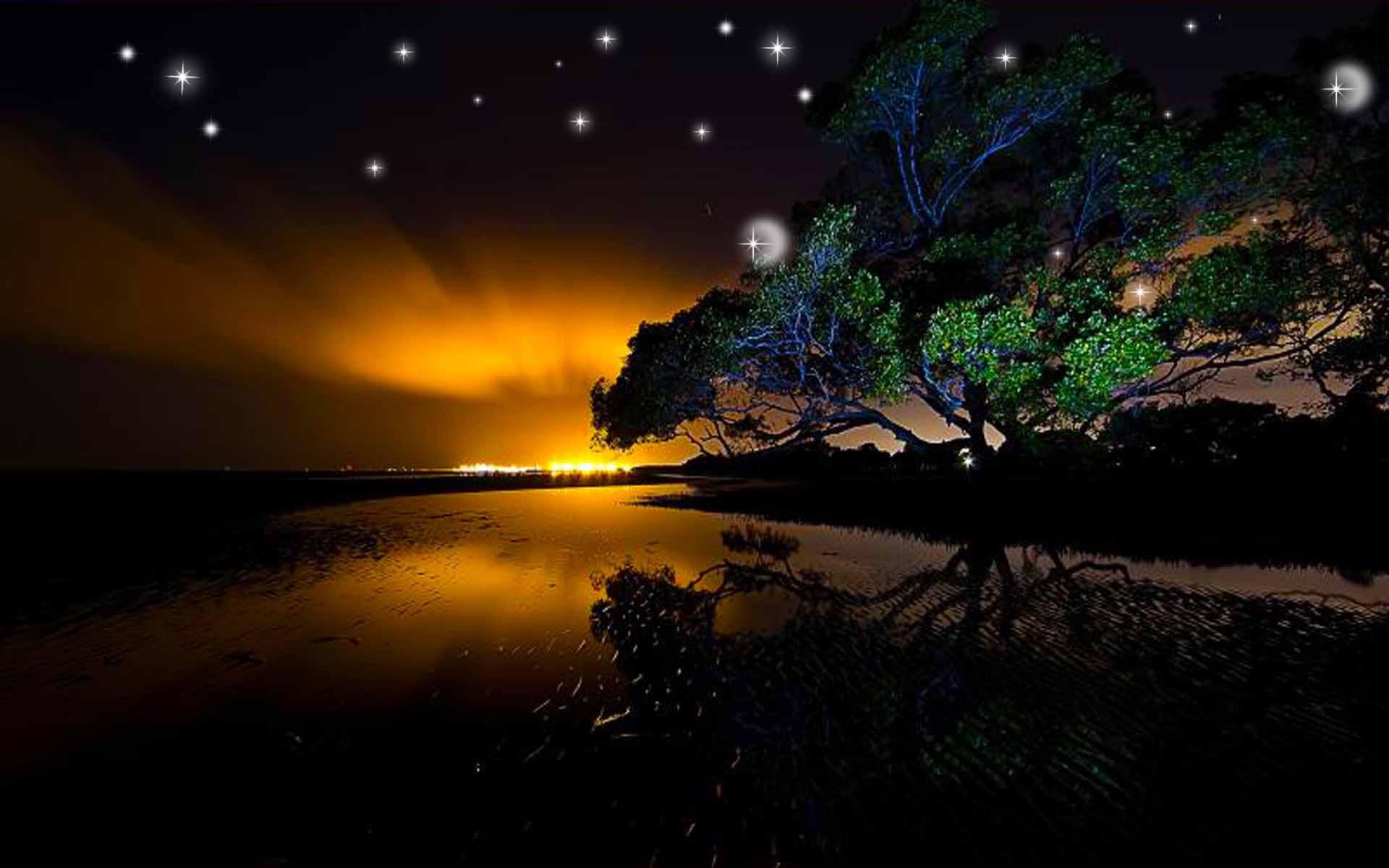 Картинки на телефон ночные пейзажи