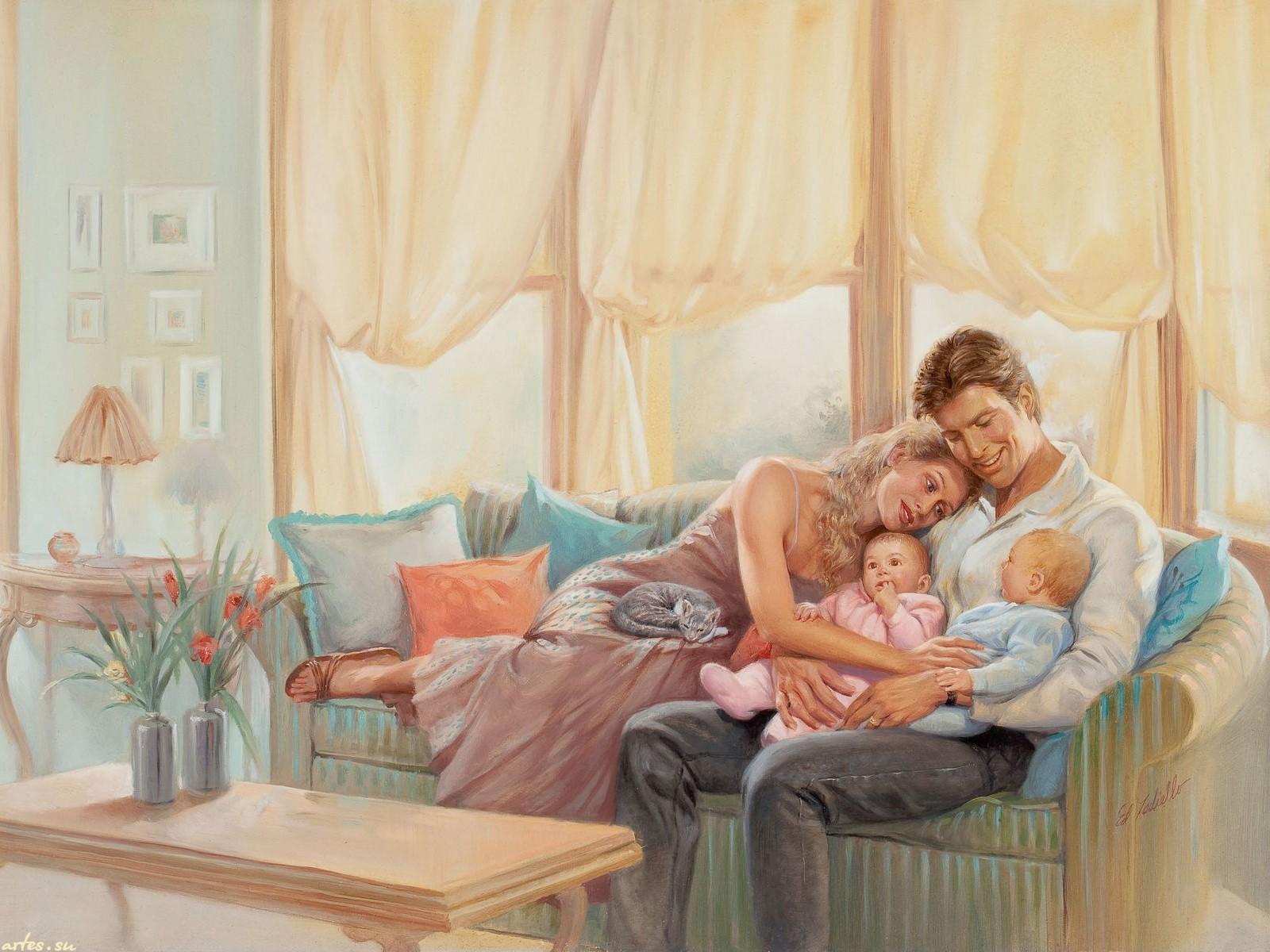 твоя семья тебя любит картинки здесь кипит