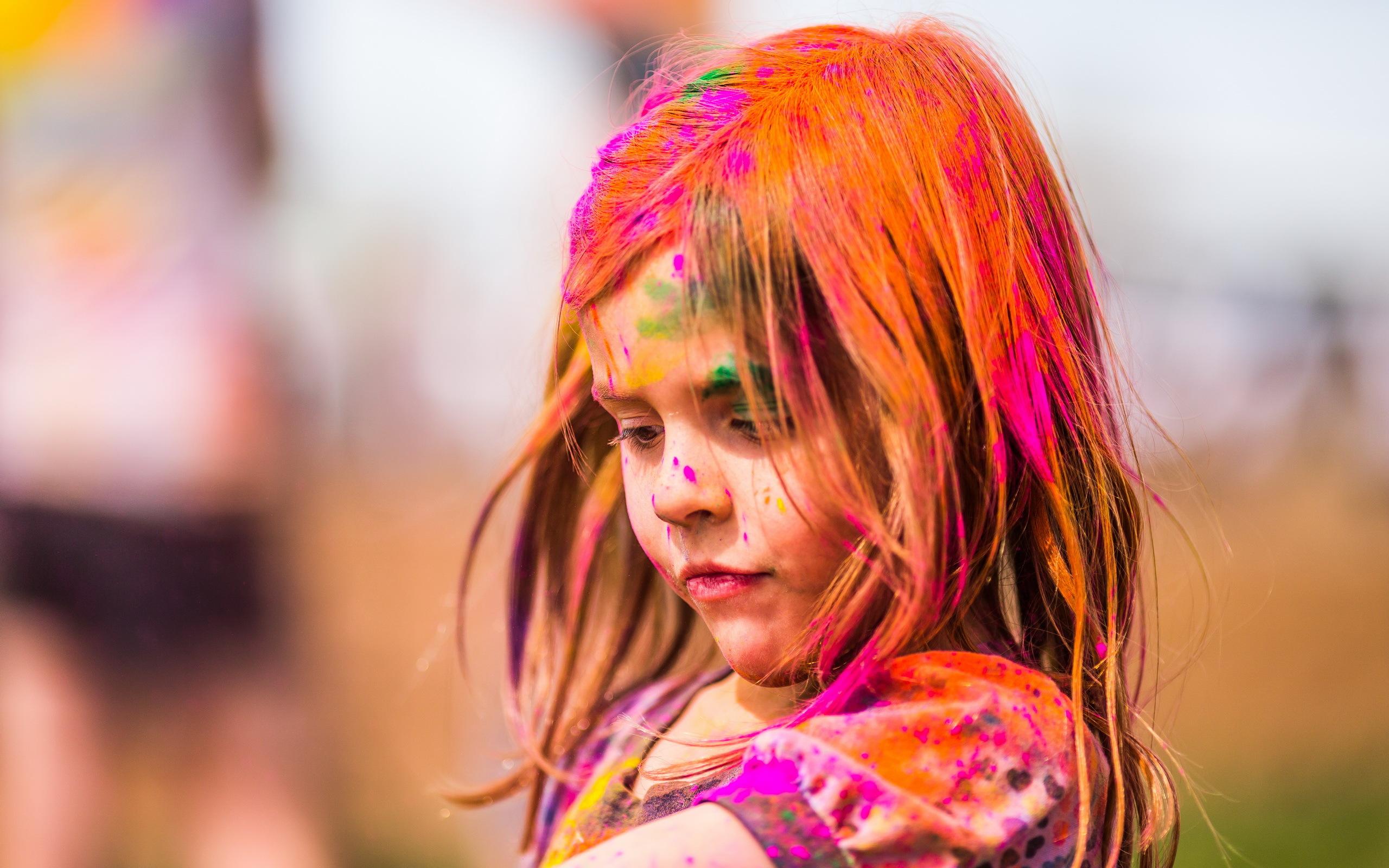 Картинки девушек красочные