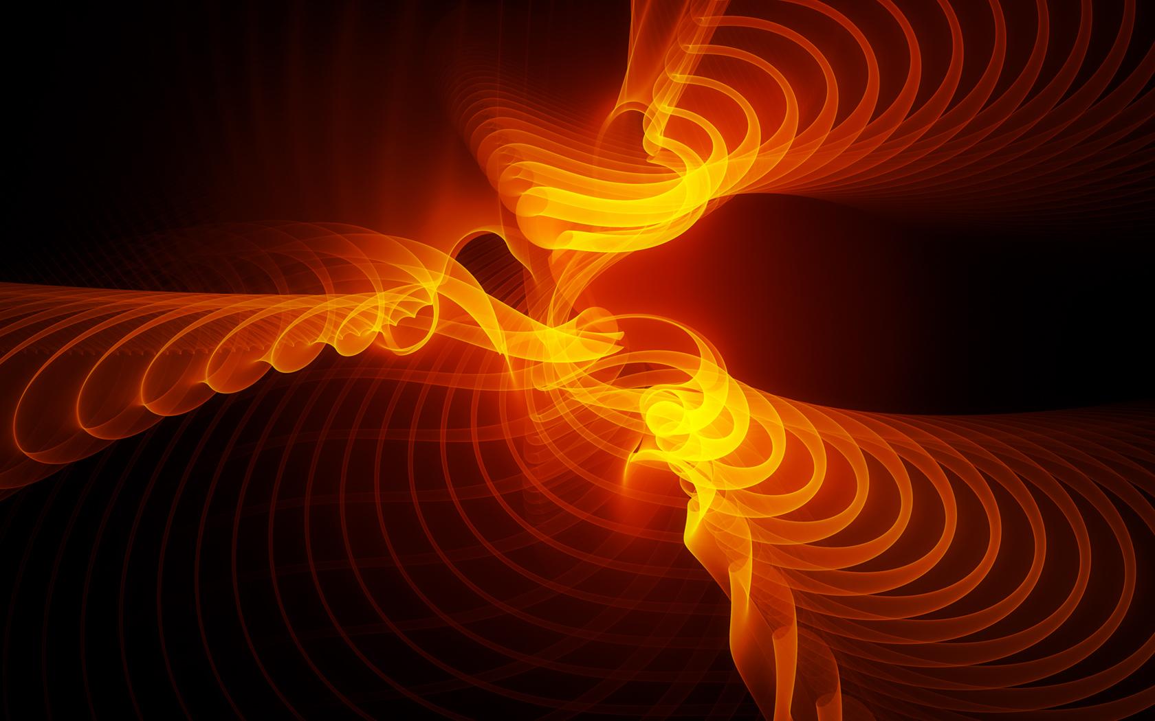 orange wave wallpaper - photo #16