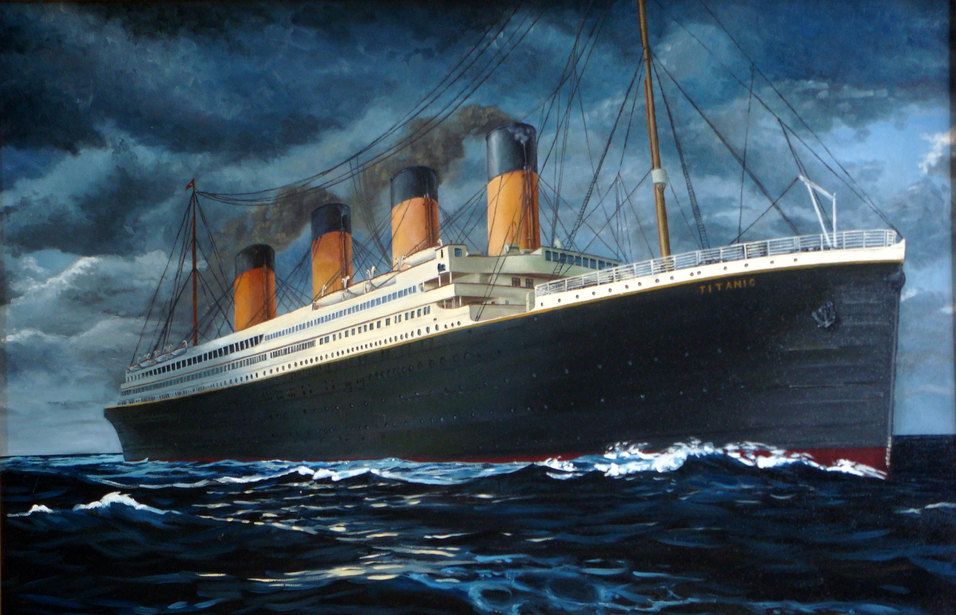 Титаник в картинках