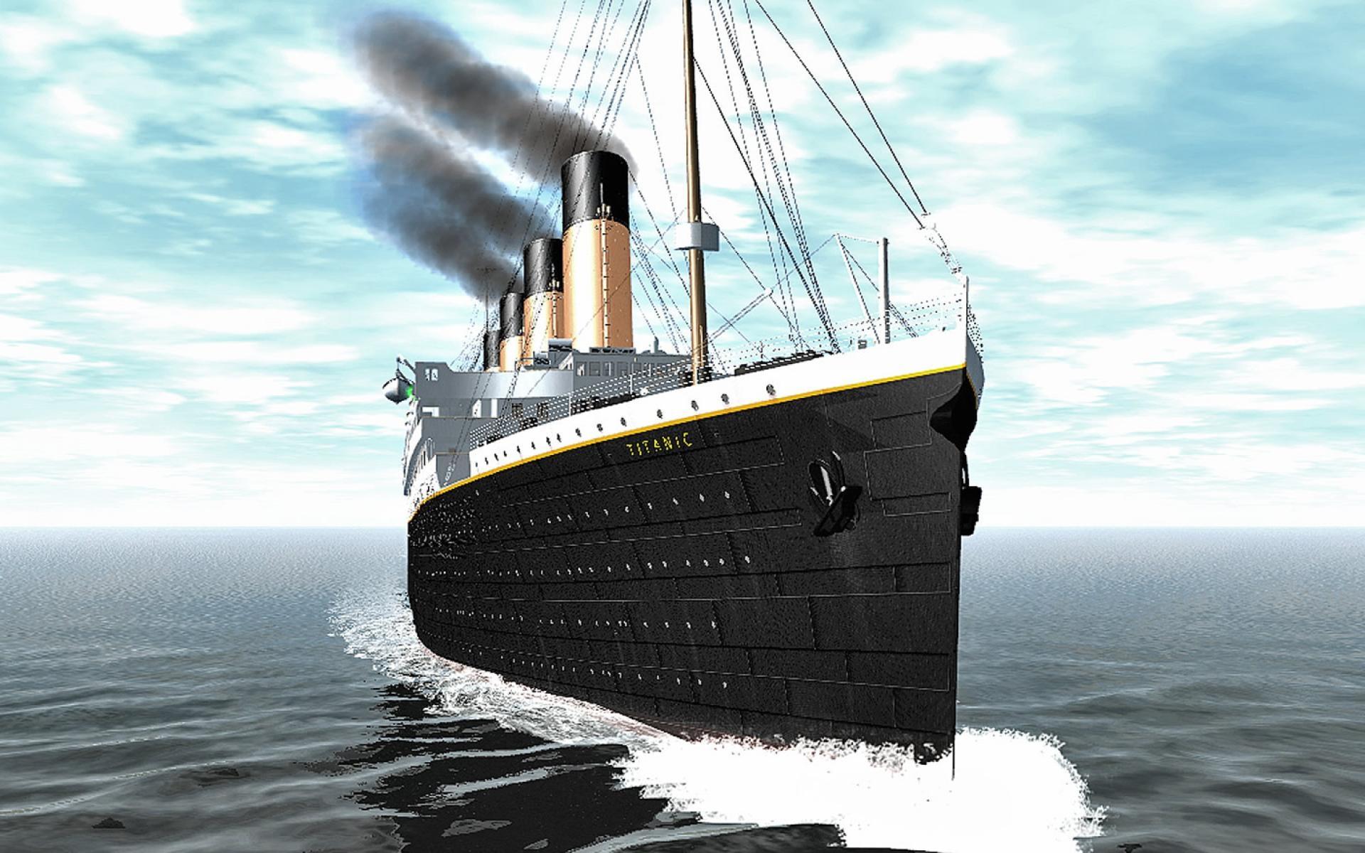 Титаник в картинках, марта