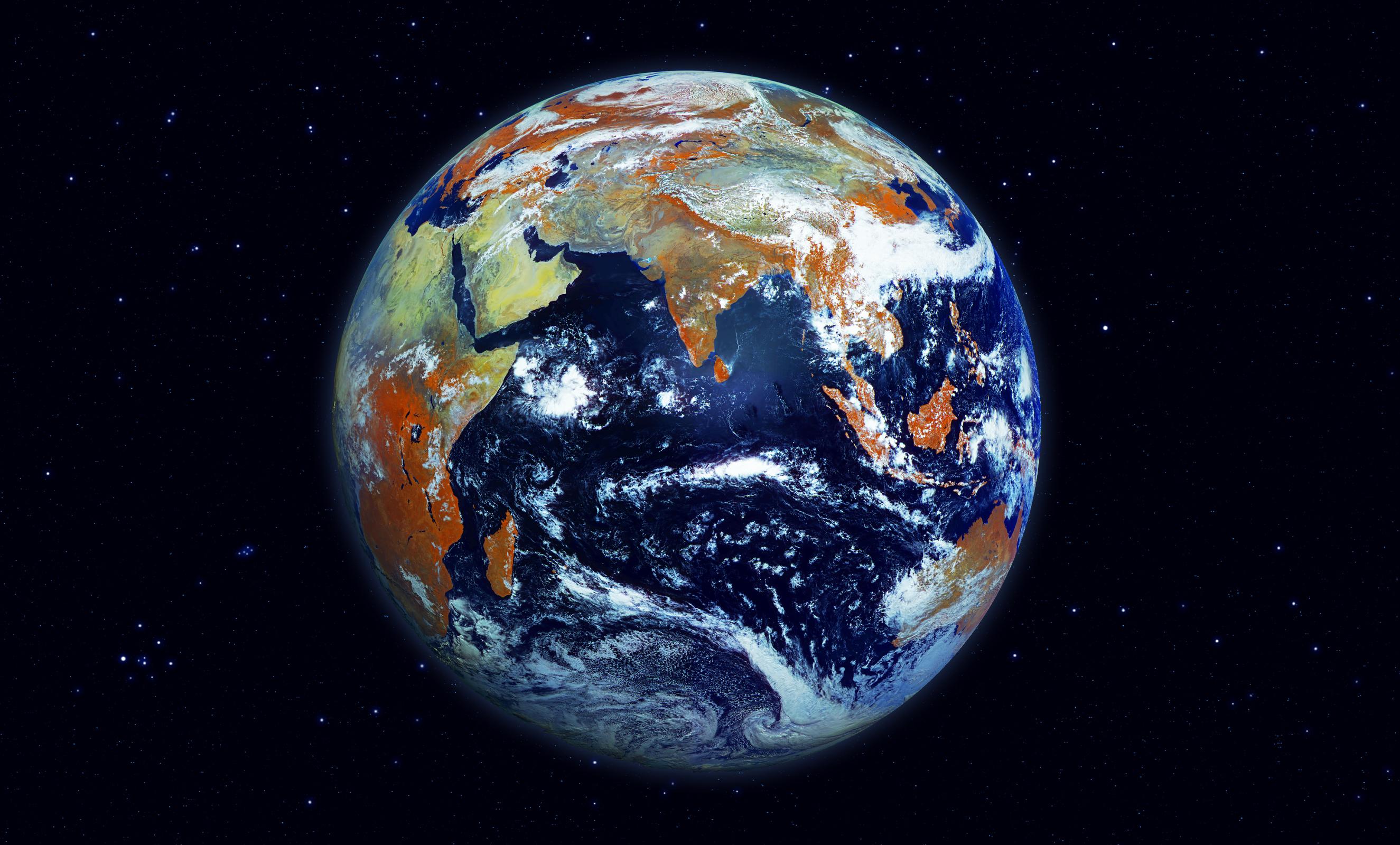 рисунок планеты земля из космоса терять связи дорогими