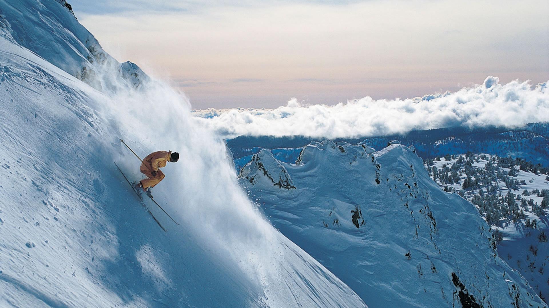 Картинки горнолыжника на фоне природы, рождением внука бабушка