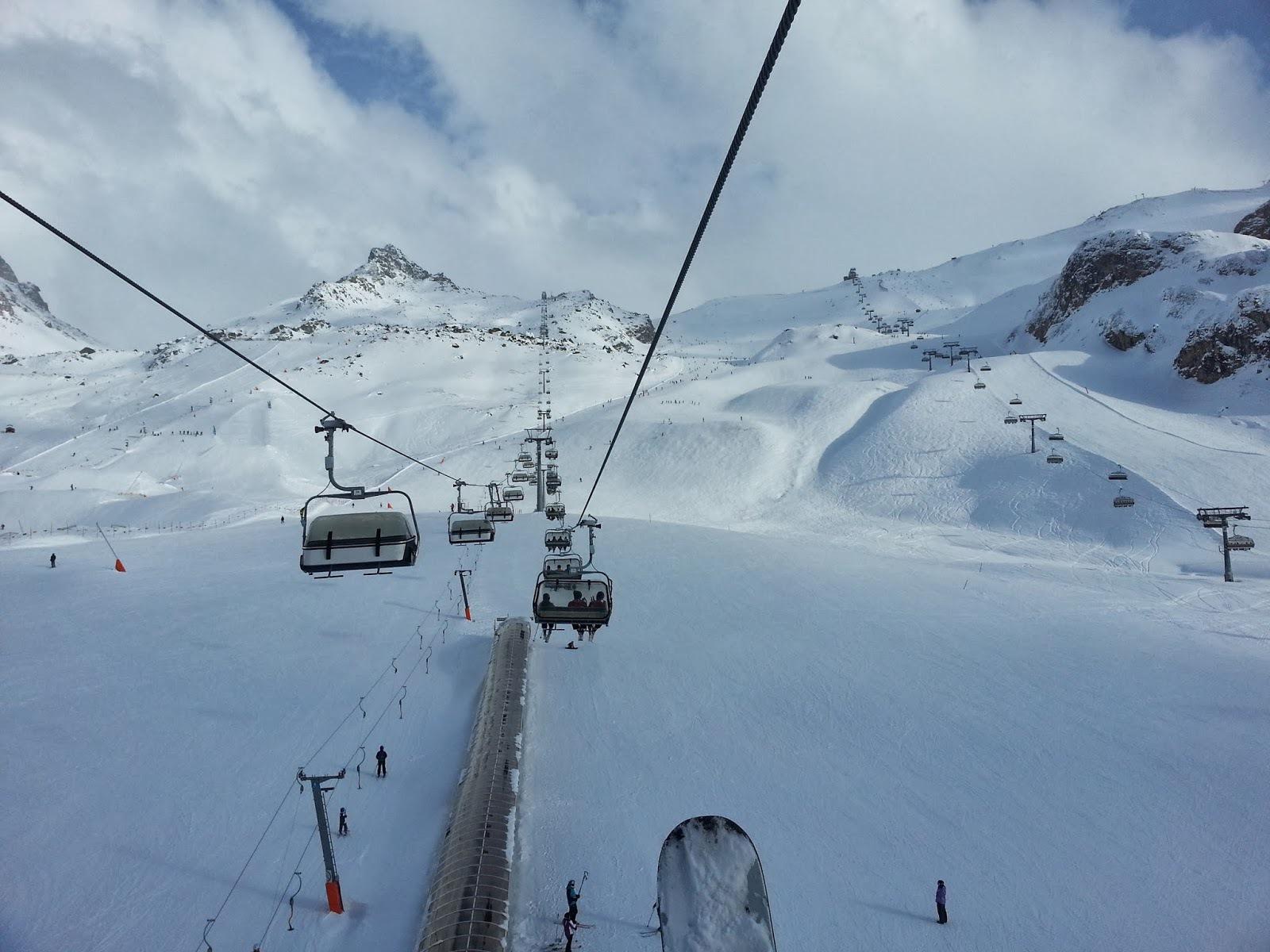 ski lift skiing snowboarding - photo #49