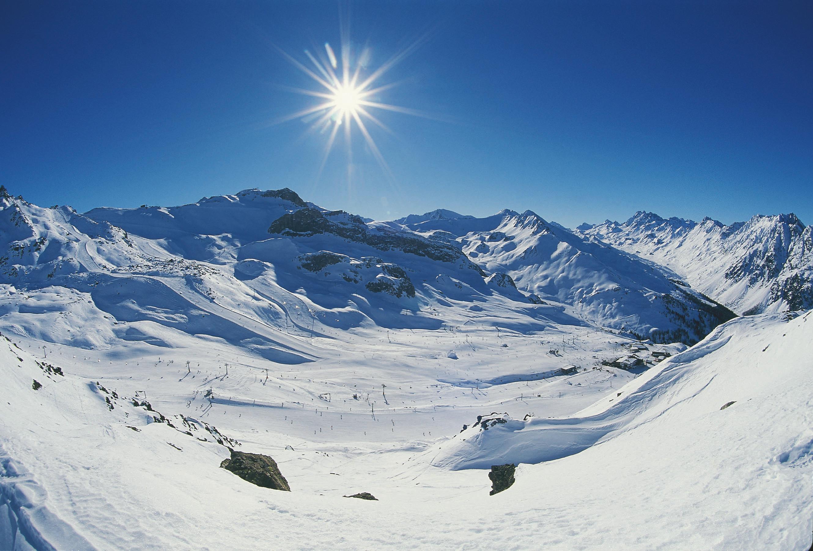 Ischgl Schnee