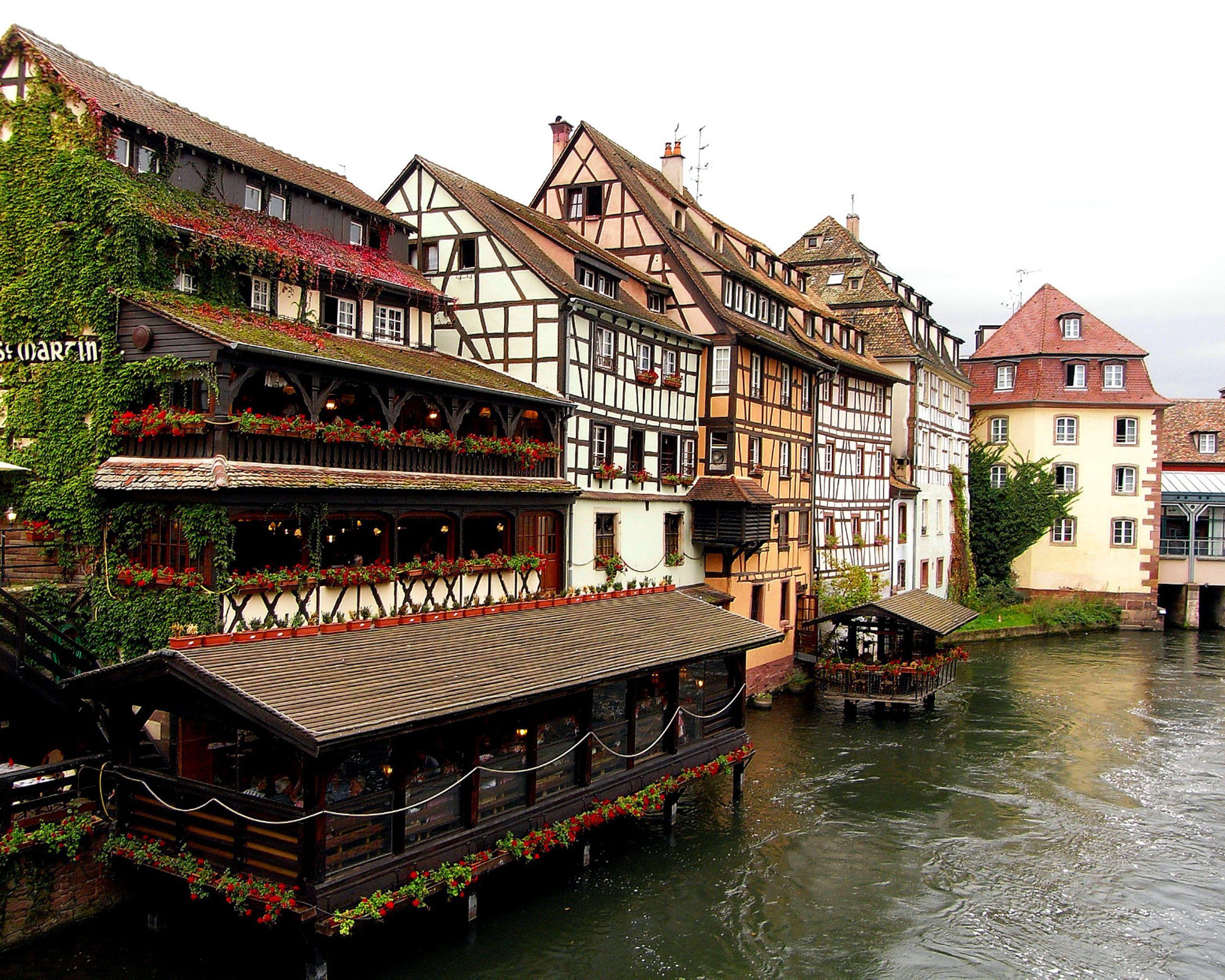 франция страсбург показать город и фото задает главный вектор
