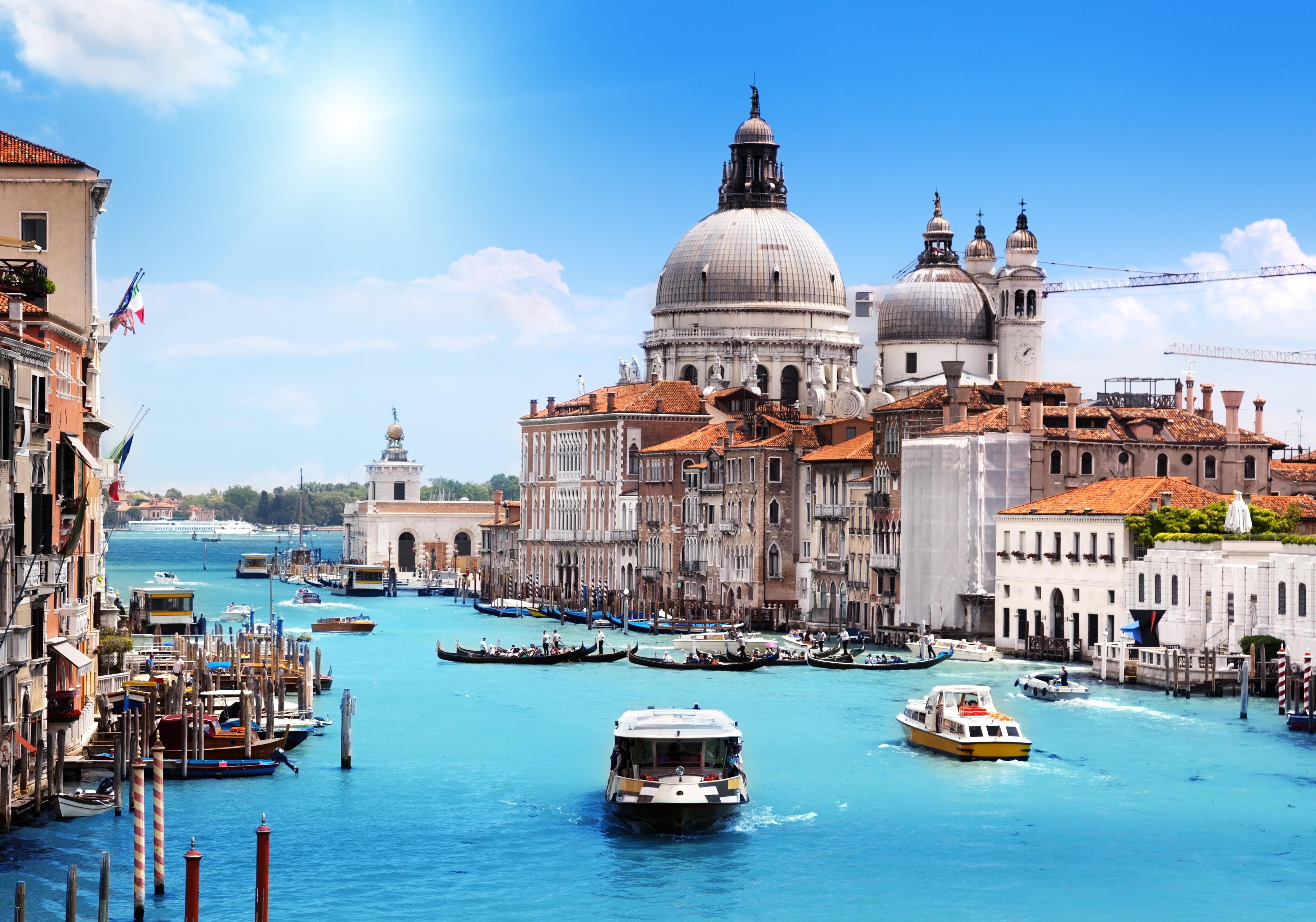 Открытка венеция, цветы букеты