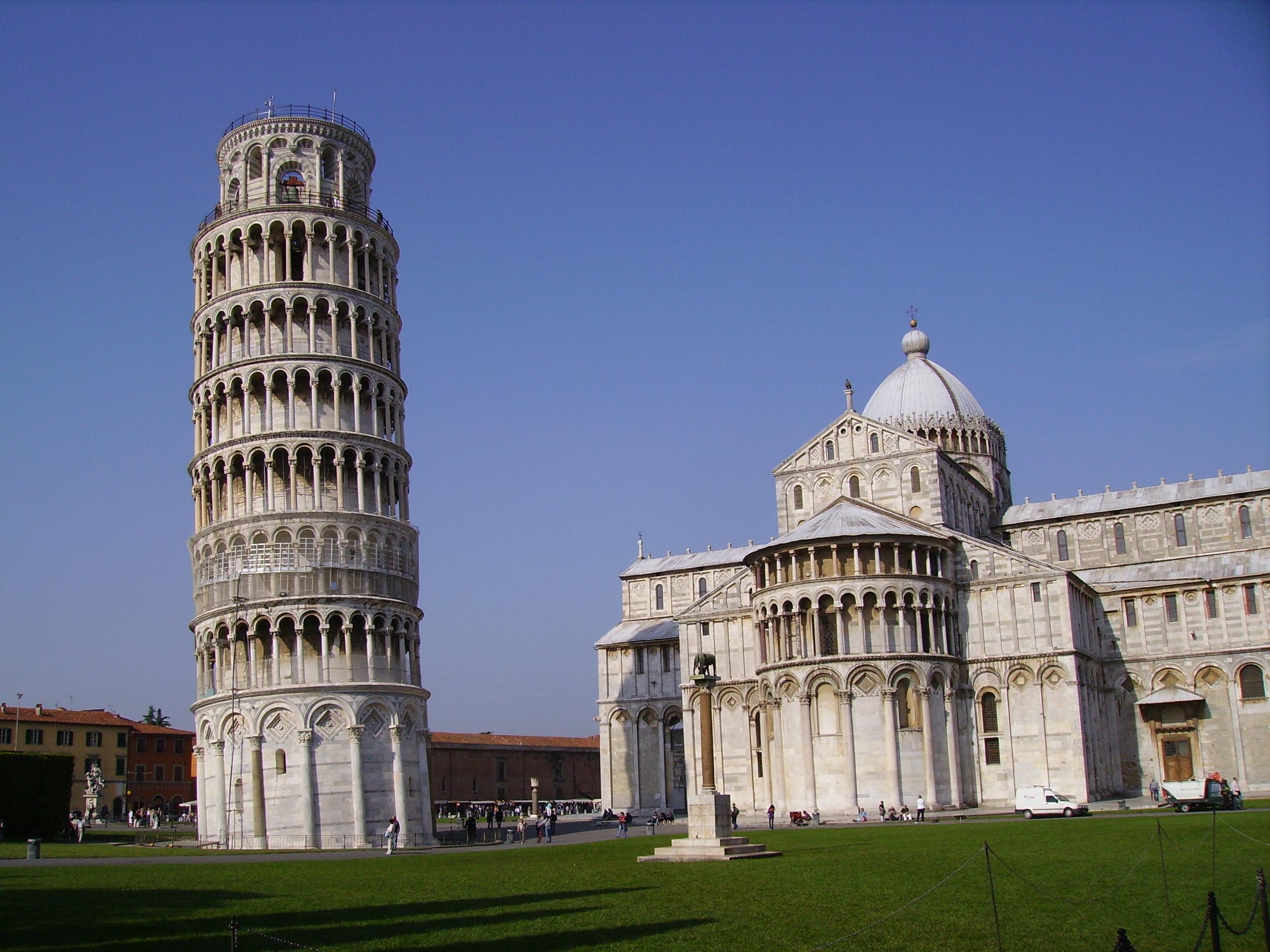 Leaning Tower Of Pisa Wallpaper