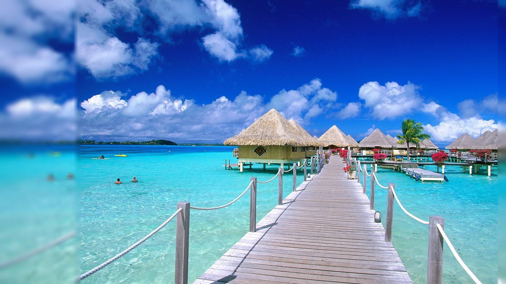 World Visits: Paradise Island Wallpaper Review
