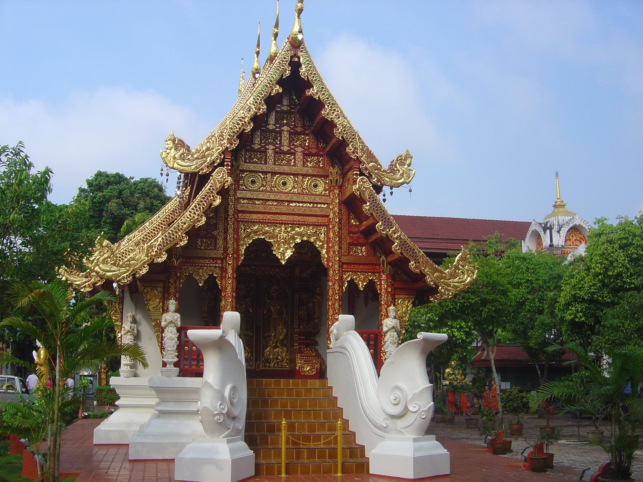 Buddhist Temple Wallpaper