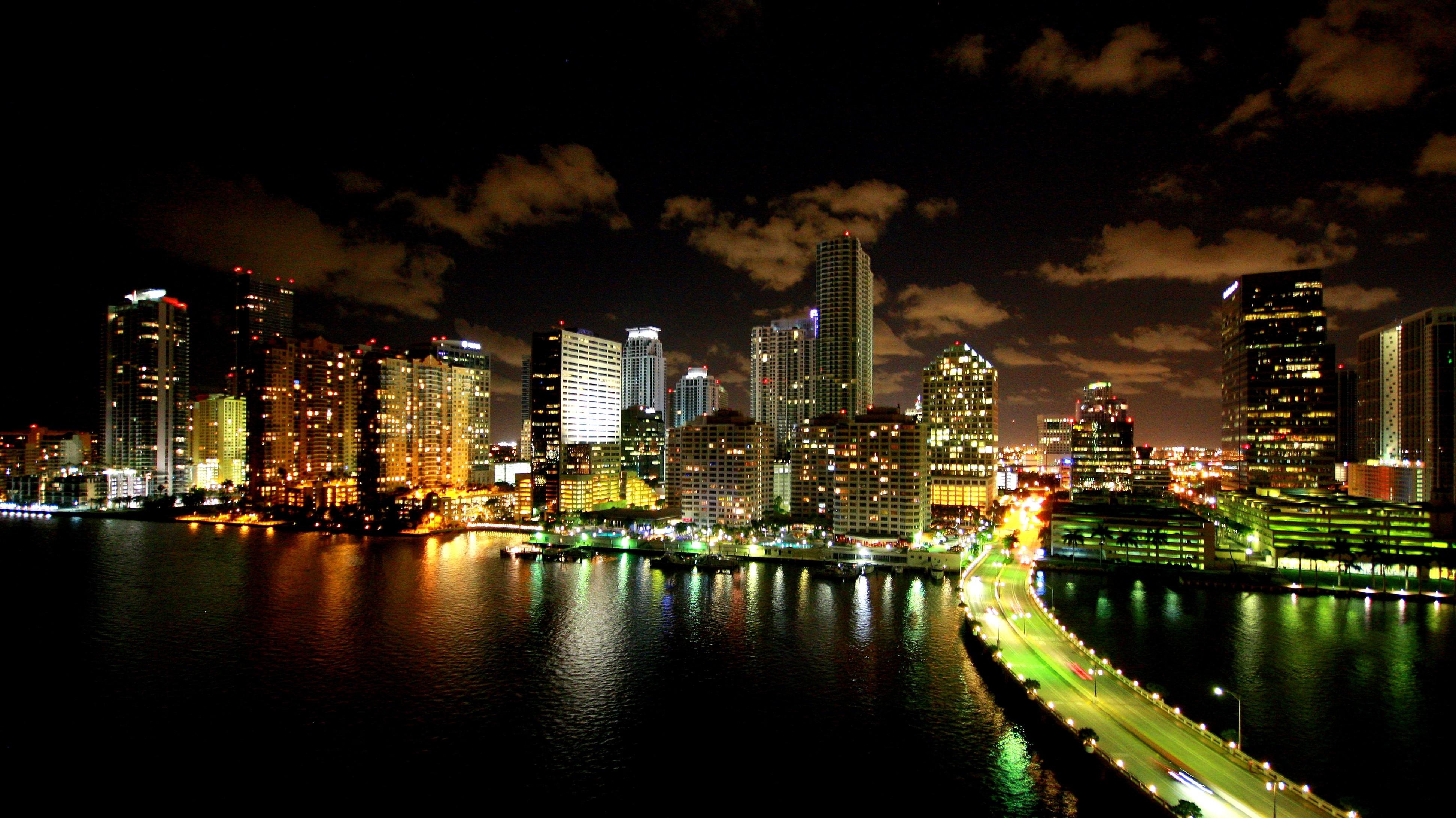 Красивые картинки ночного города на рабочий стол