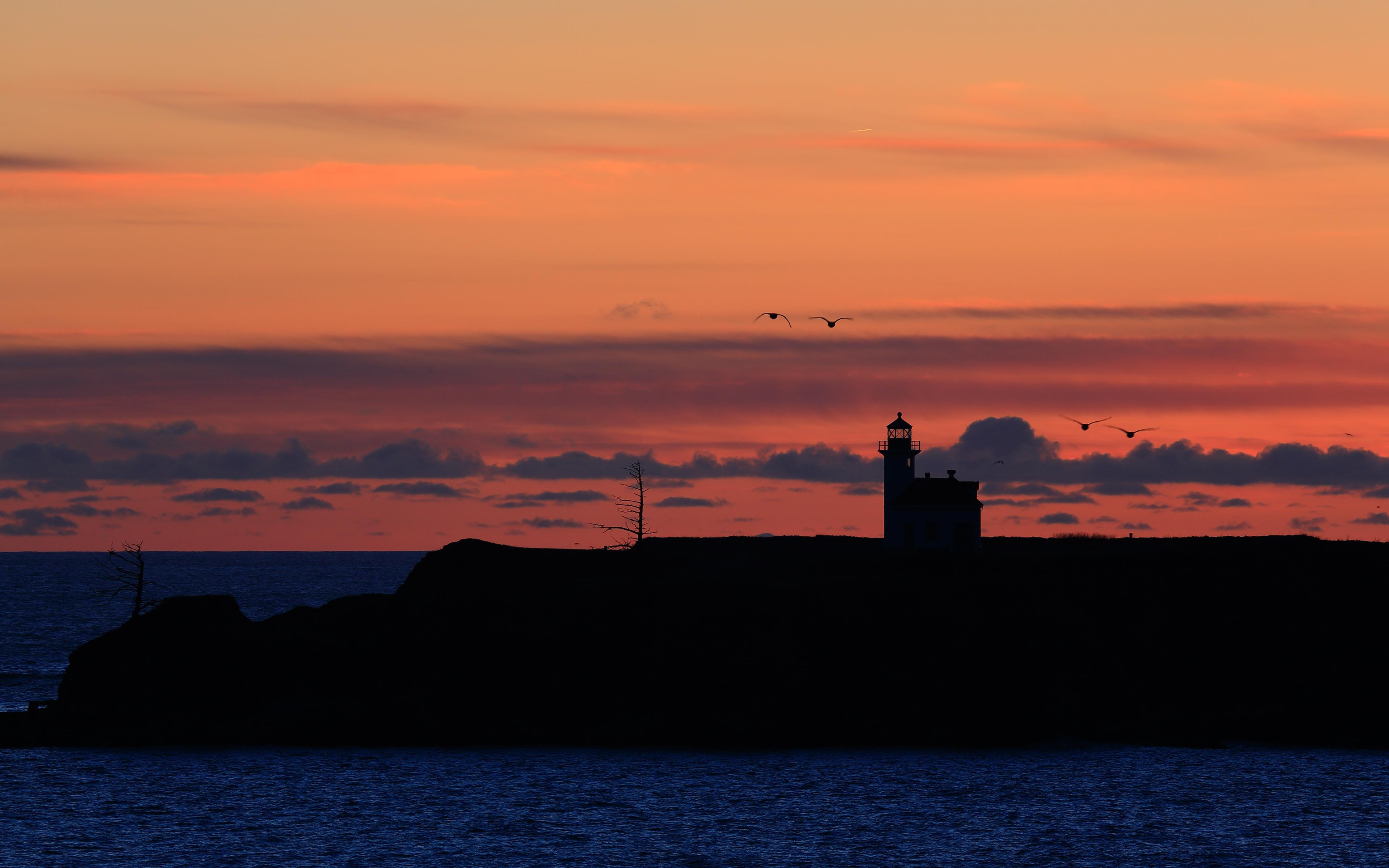 lighthouse at night - HD1920×1080