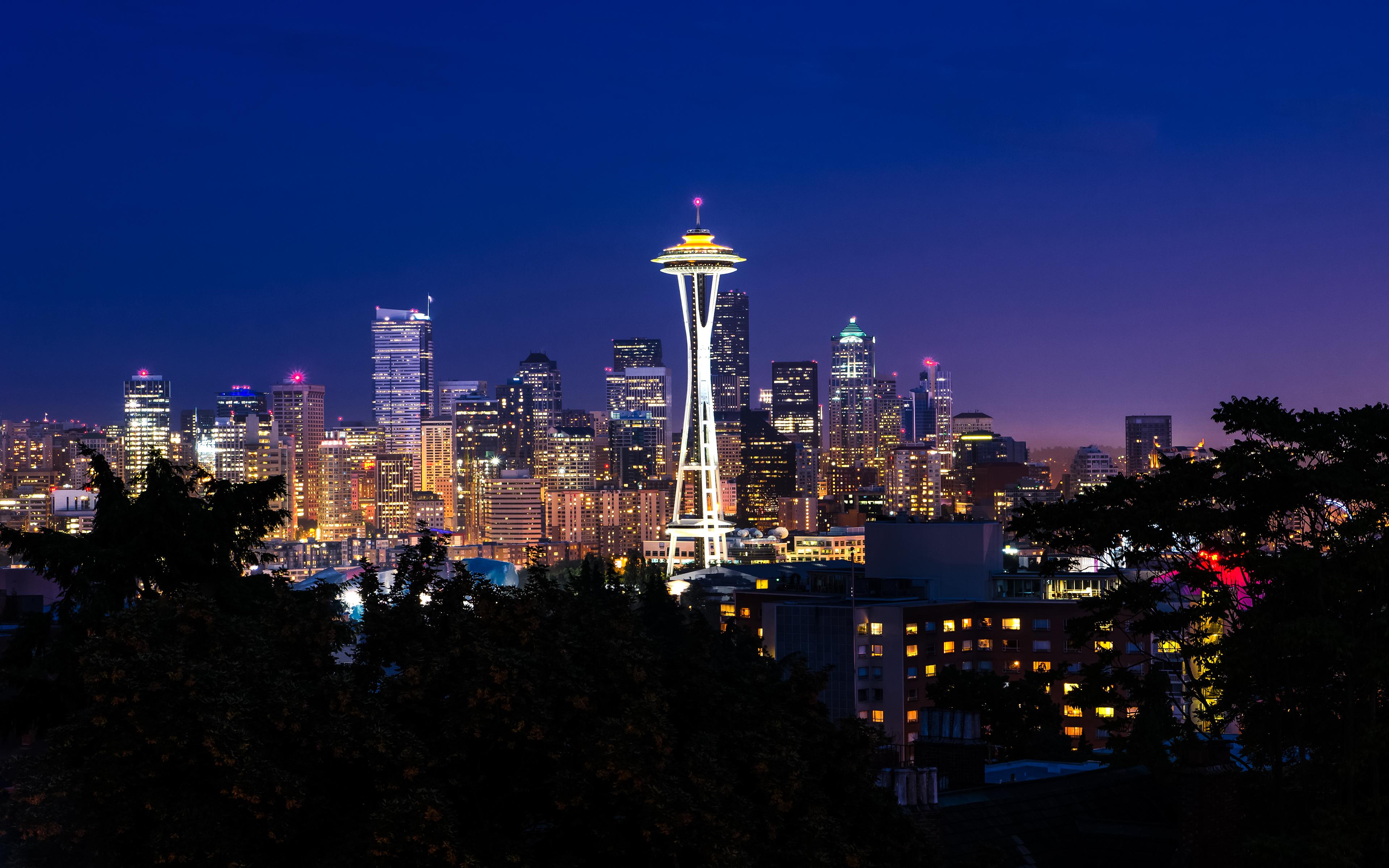 South Lake Union in Seattle(SLU) Район в Сиэтле Часть