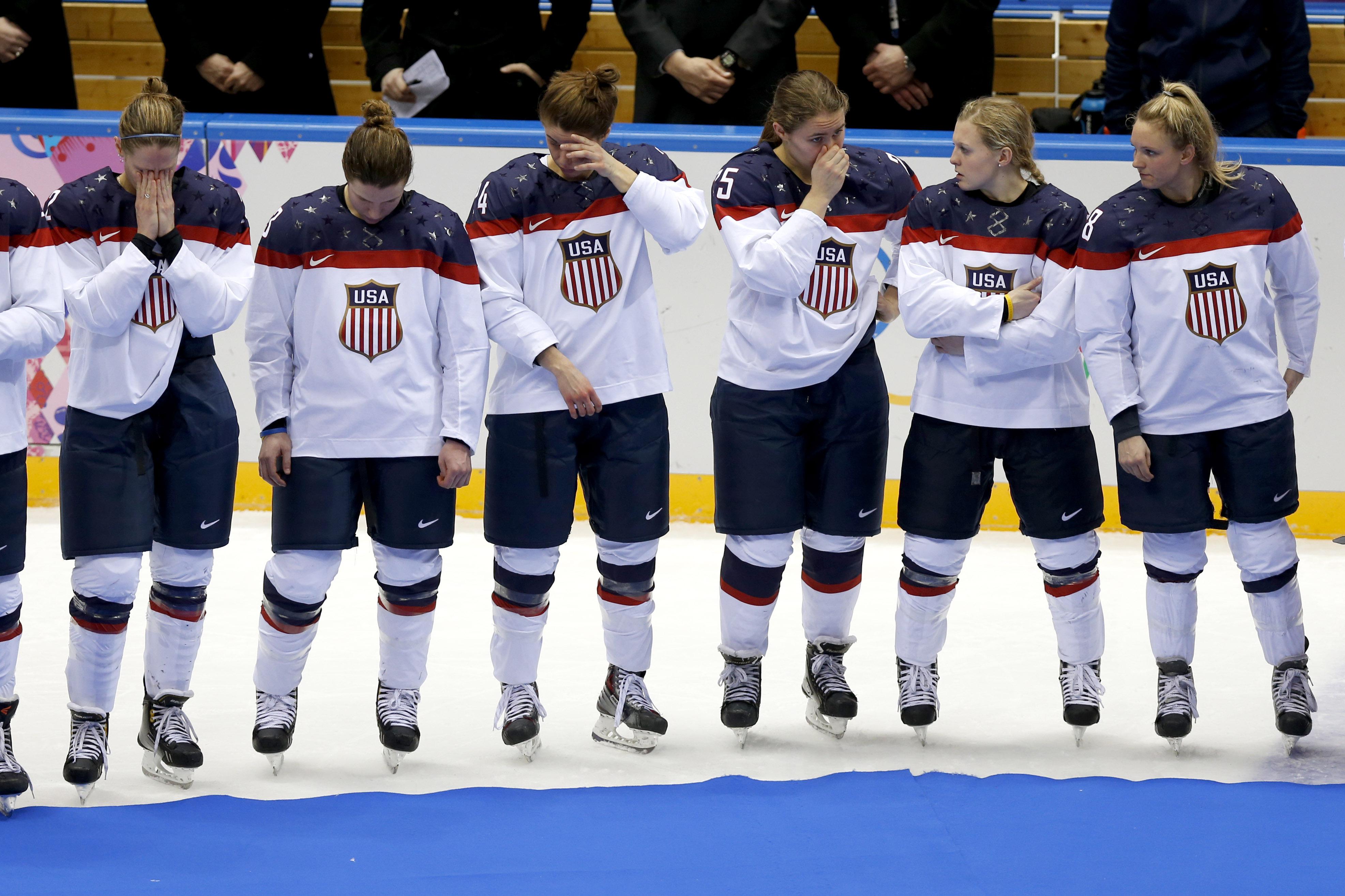 американские хоккеистки фото этой