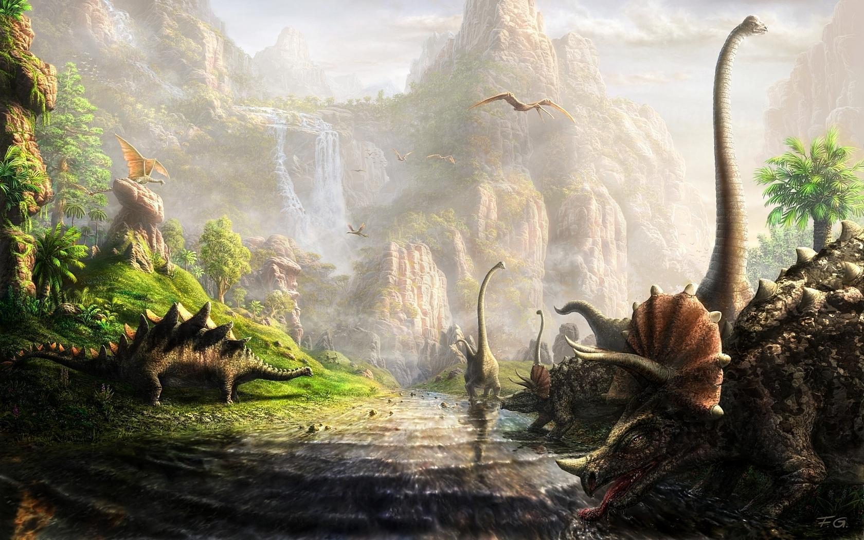 Динозавры картинки красивые