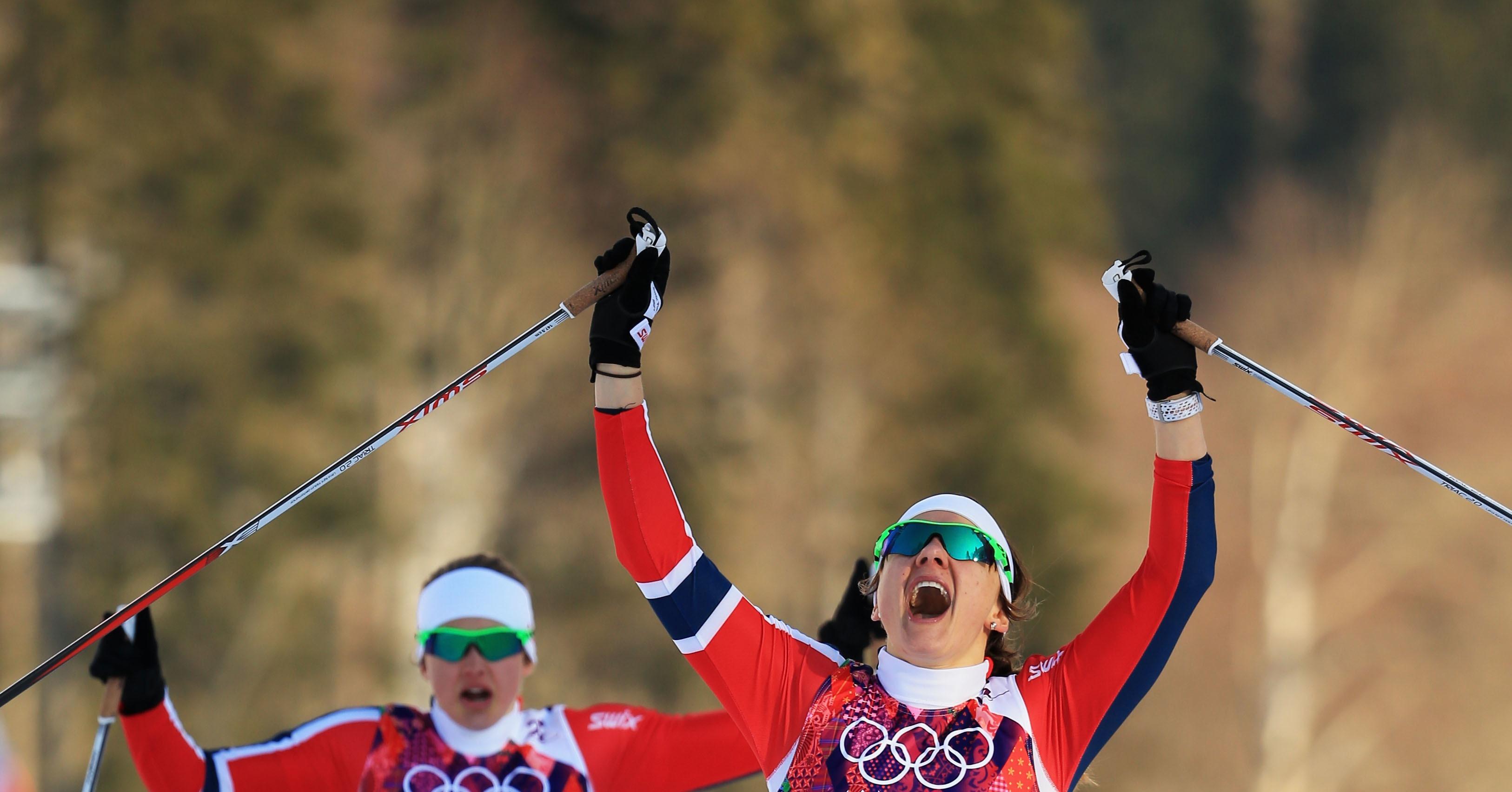Лыжные гонки смешные картинки, открыток