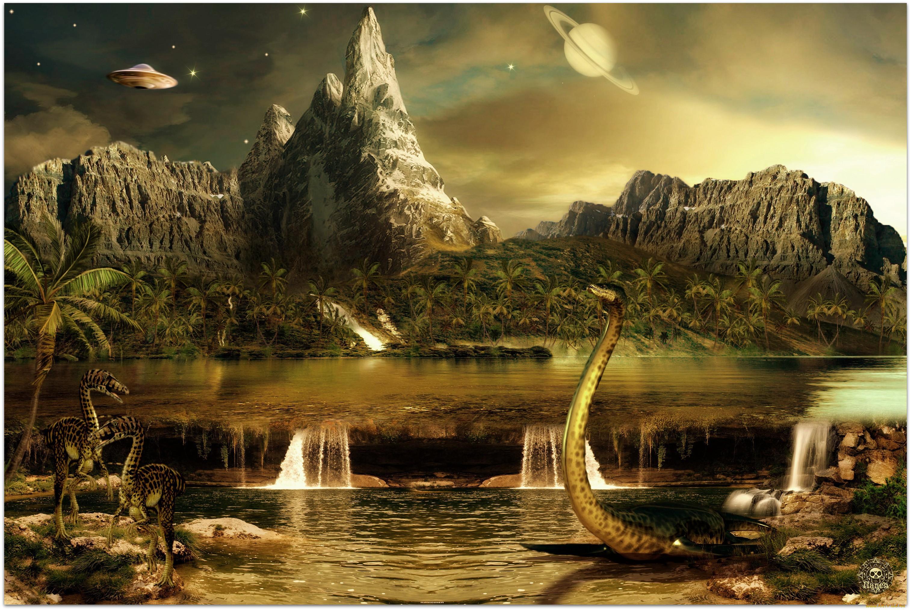 Красивые картинки древних миров