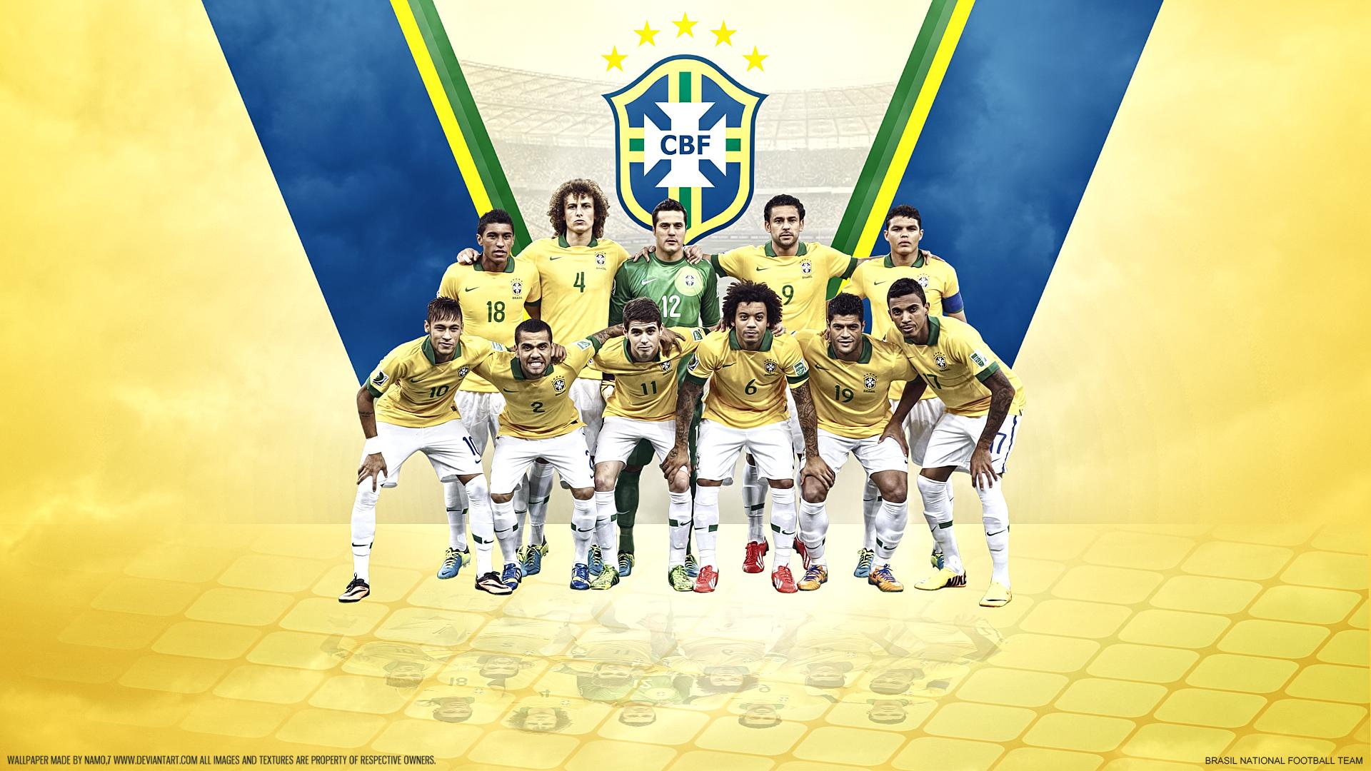 обои на рабочий стол бразилия футбол травмировать только-только пророщенные