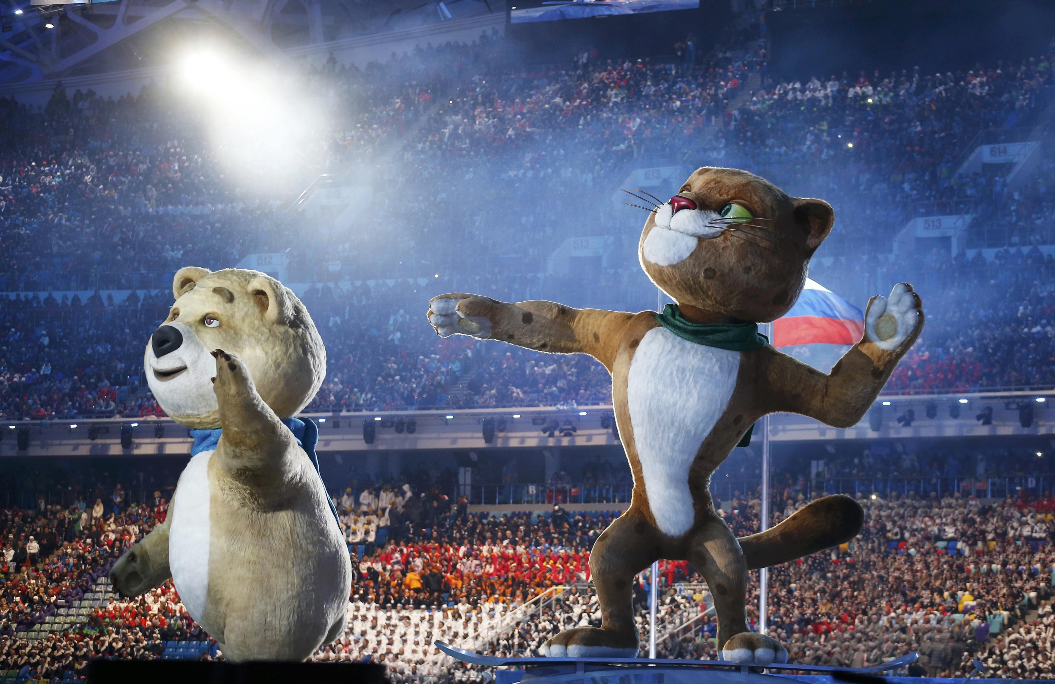 Картинки олимпиада в сочи 2014 символы, открытка днем