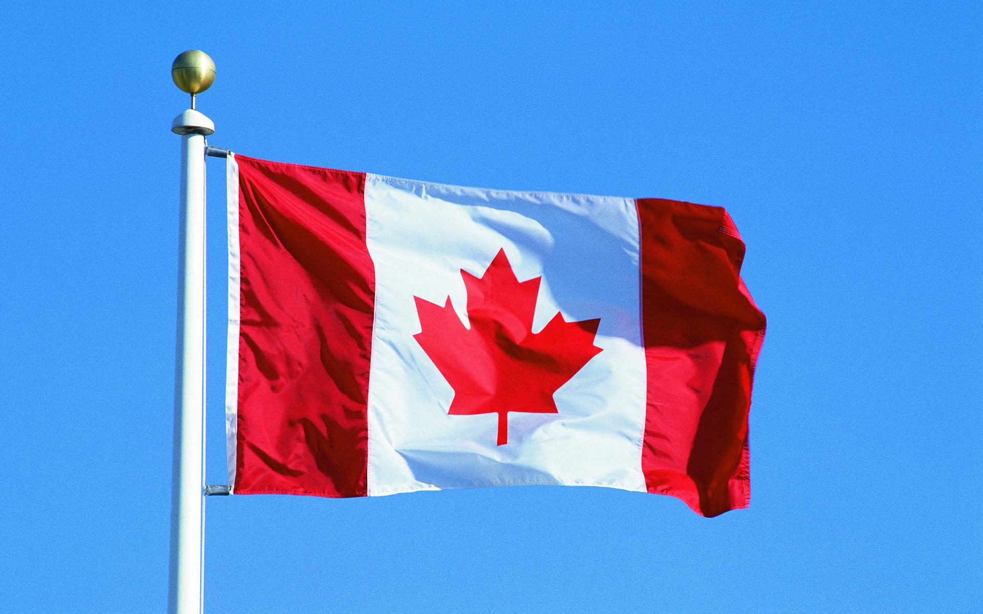 Картинки канада флаг
