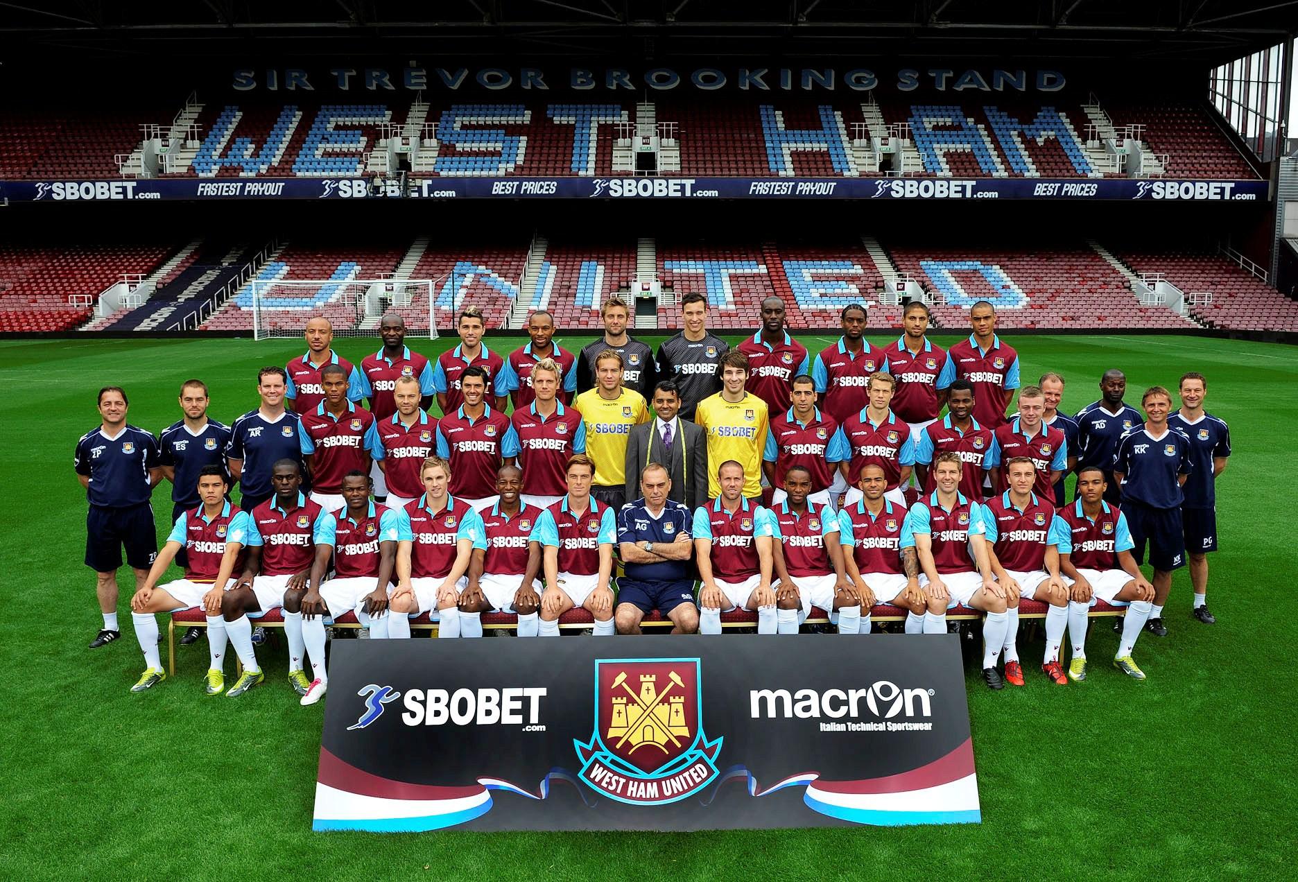 Фото футбольного клуба вест хэм