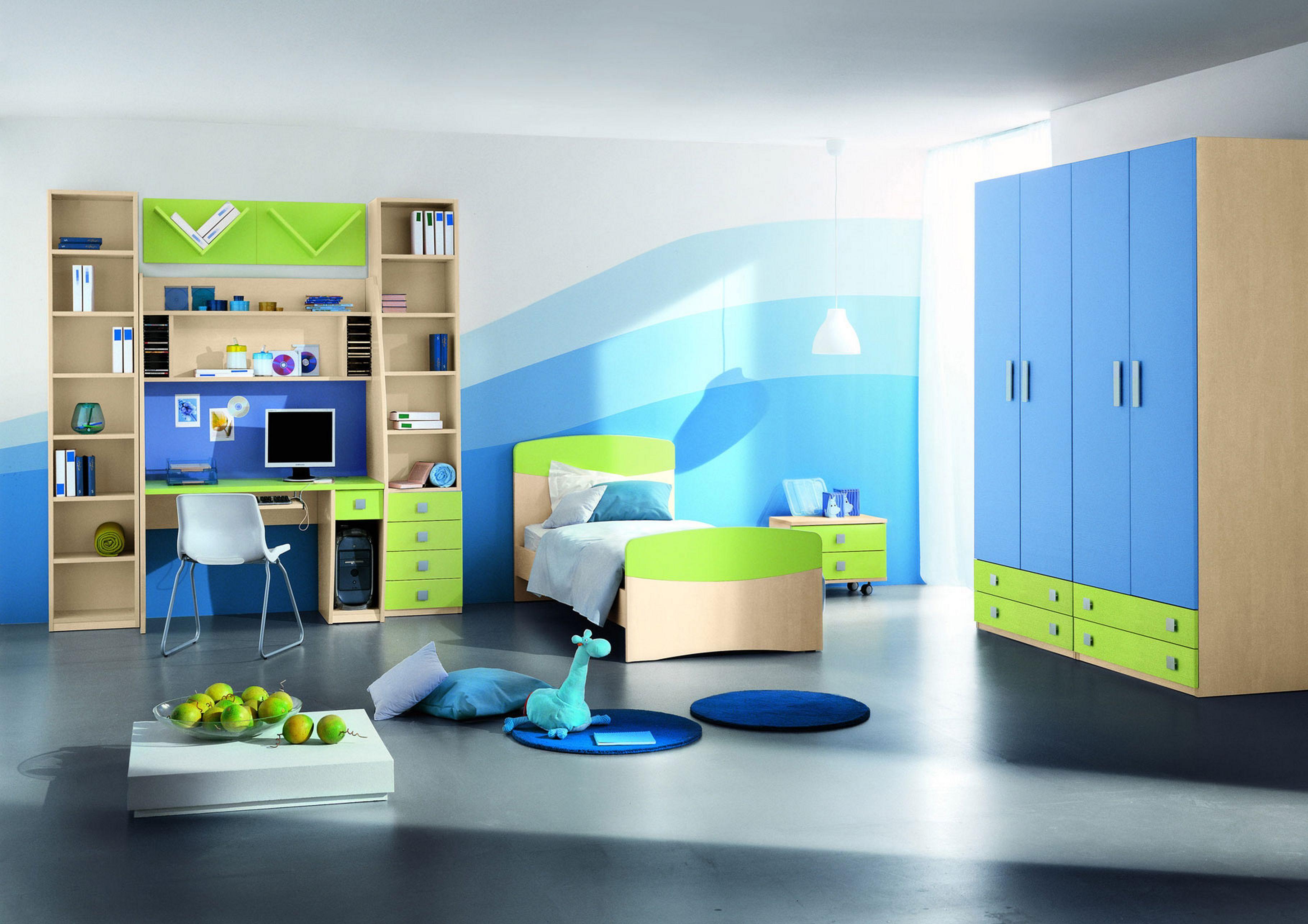 Дизайн детских комнат для мальчиков с 6.