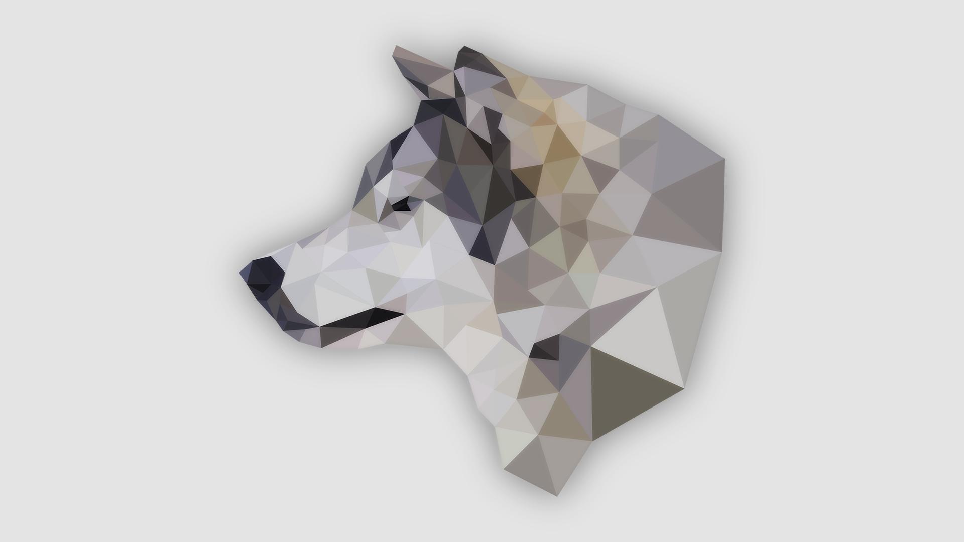 Кристальные картинки животных