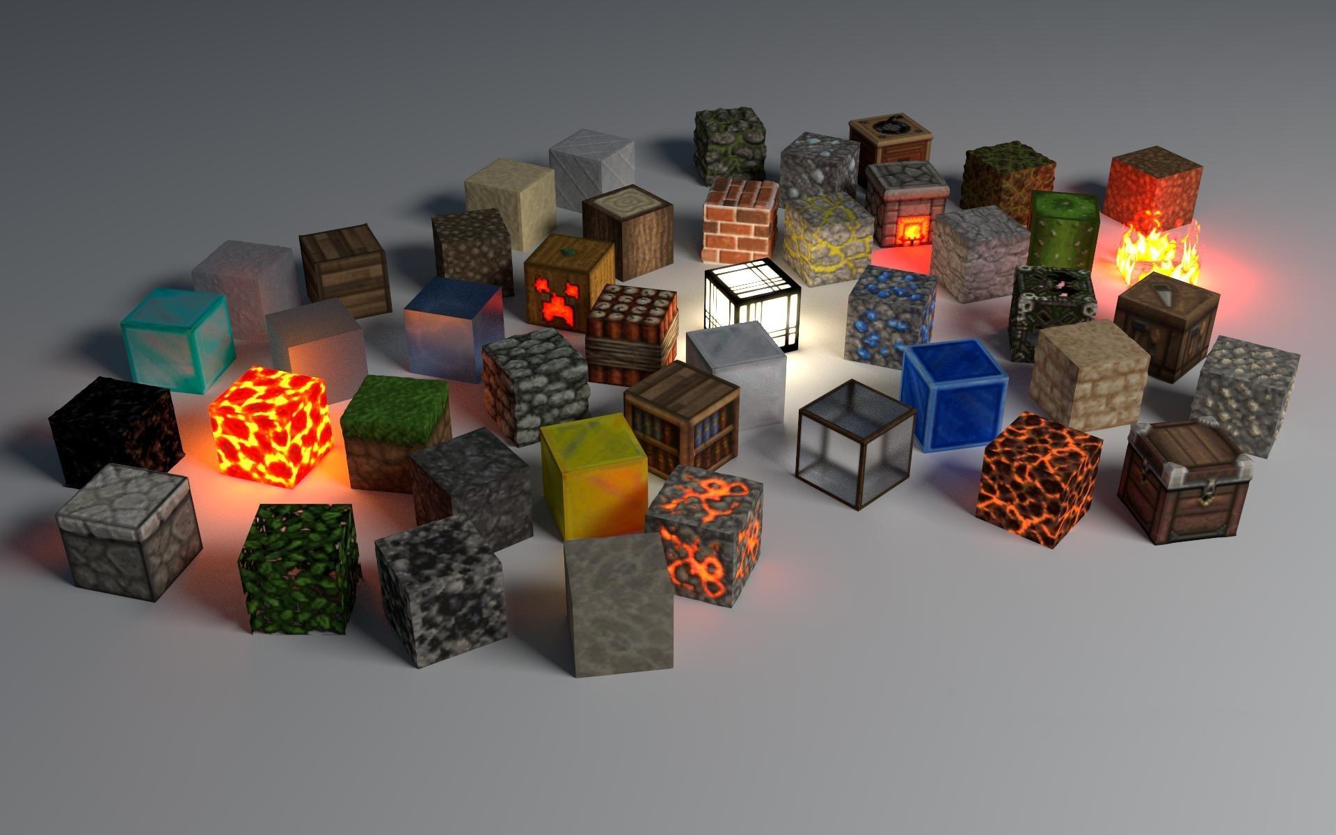 Кубы в майнкрафте